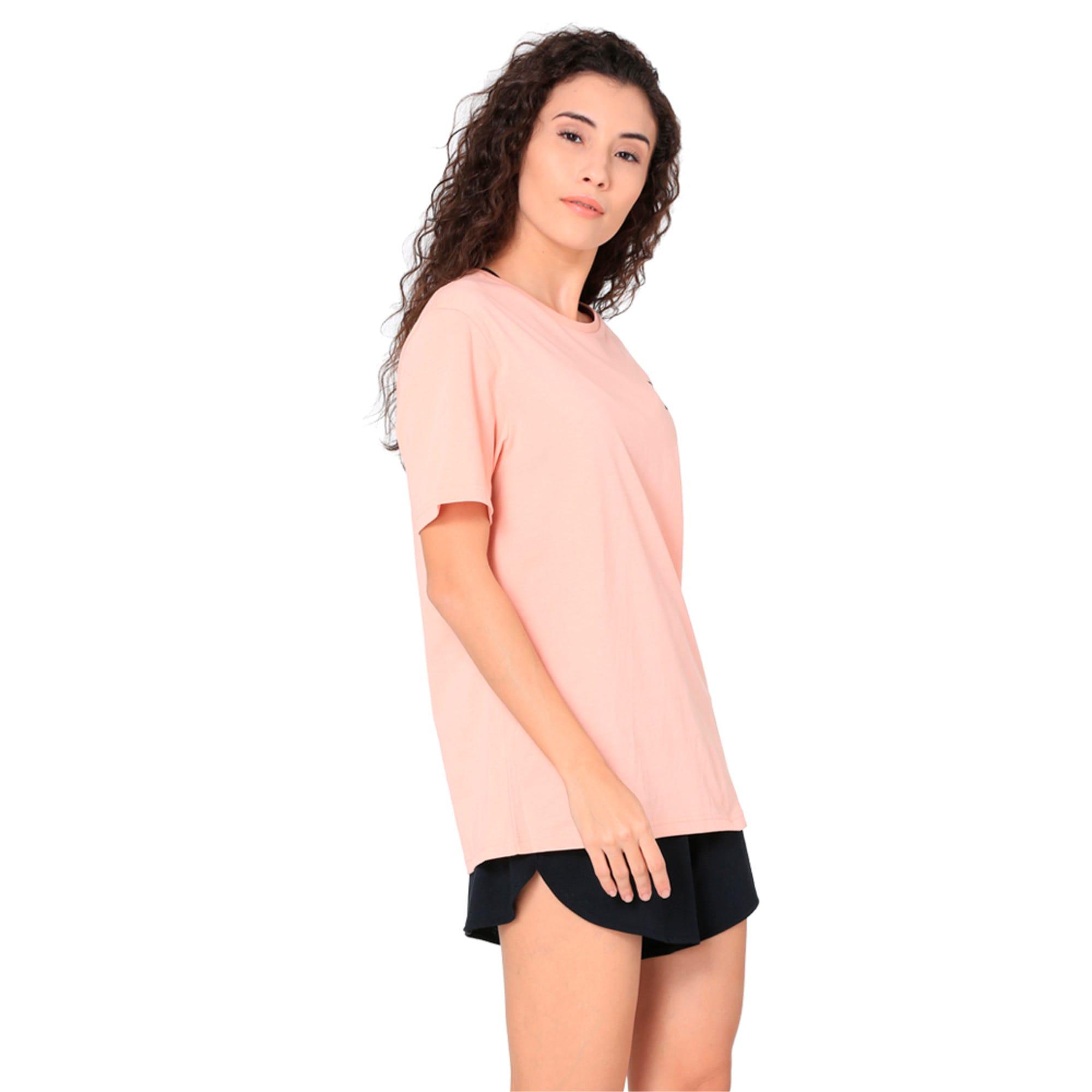Thumbnail 5 of Women's Graphic T-shirt, Peach Beige, medium-IND