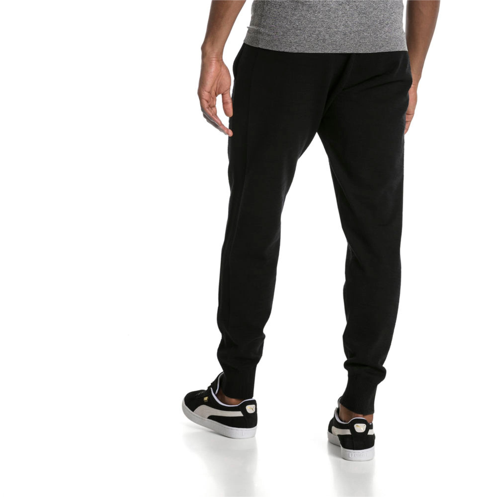 Thumbnail 2 of Men's T7 evoKnit Pants, Puma Black, medium-IND