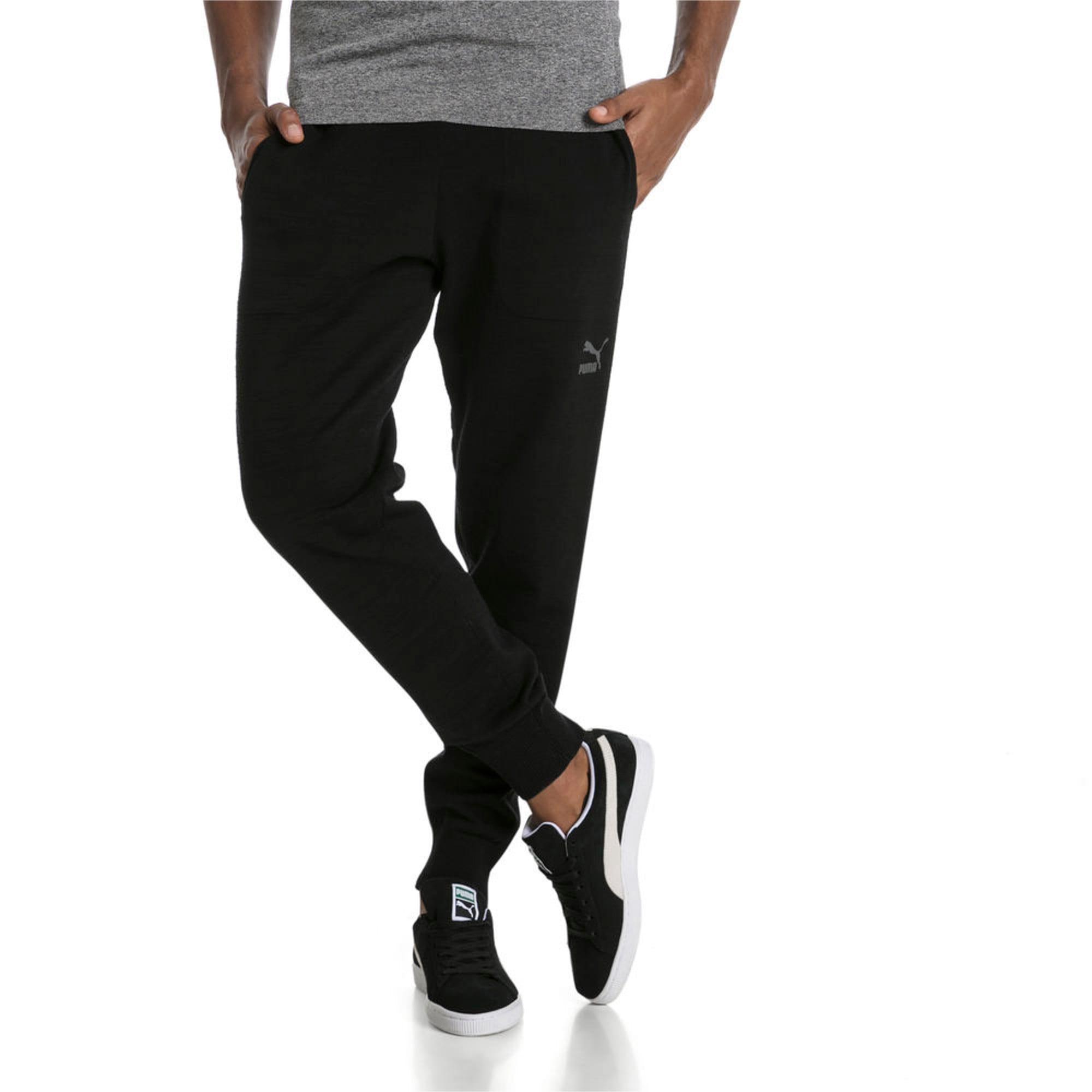 Thumbnail 1 of Men's T7 evoKnit Pants, Puma Black, medium-IND