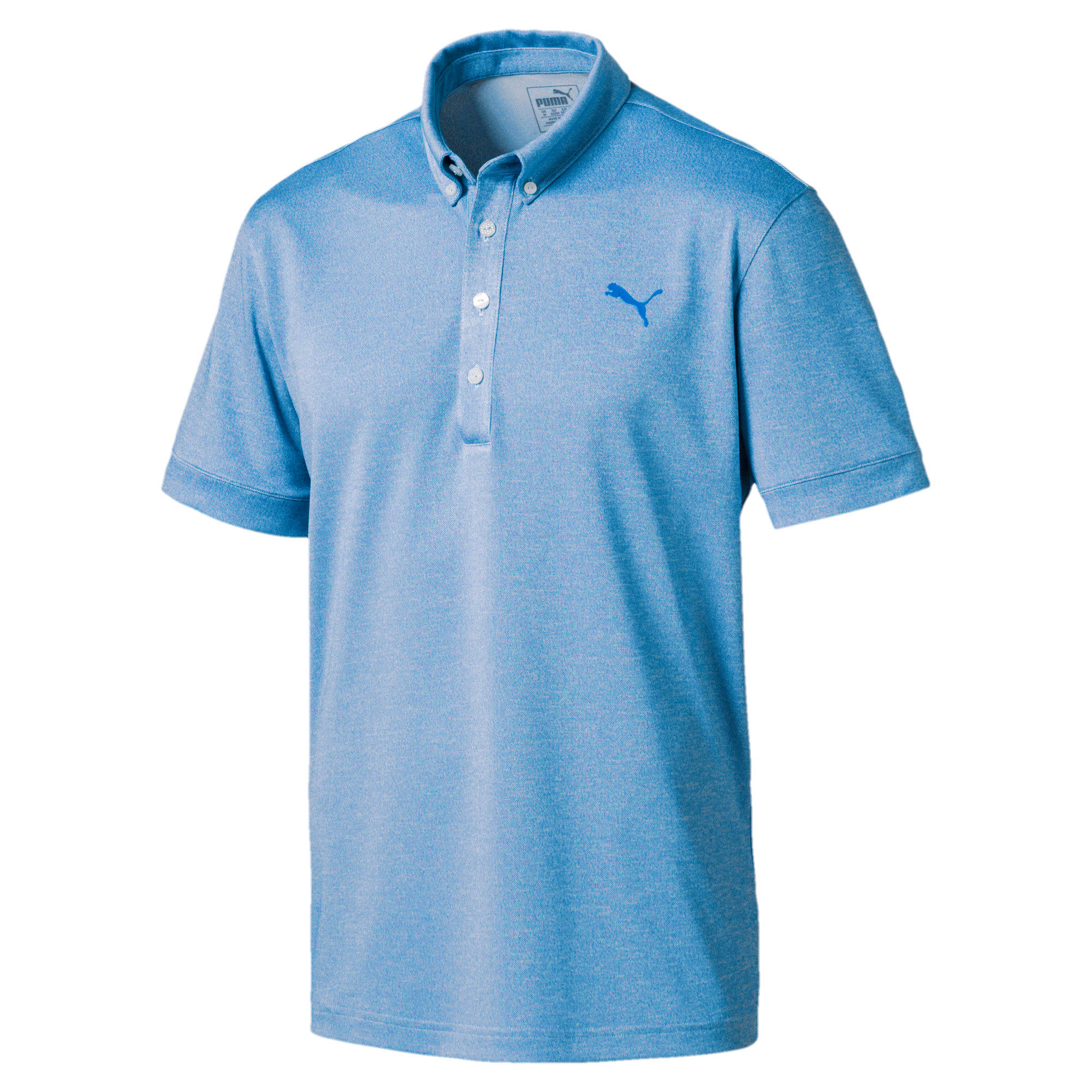 Thumbnail 1 of Golf Men's Tailored Oxford Heather Polo, EBL Heather, medium-IND