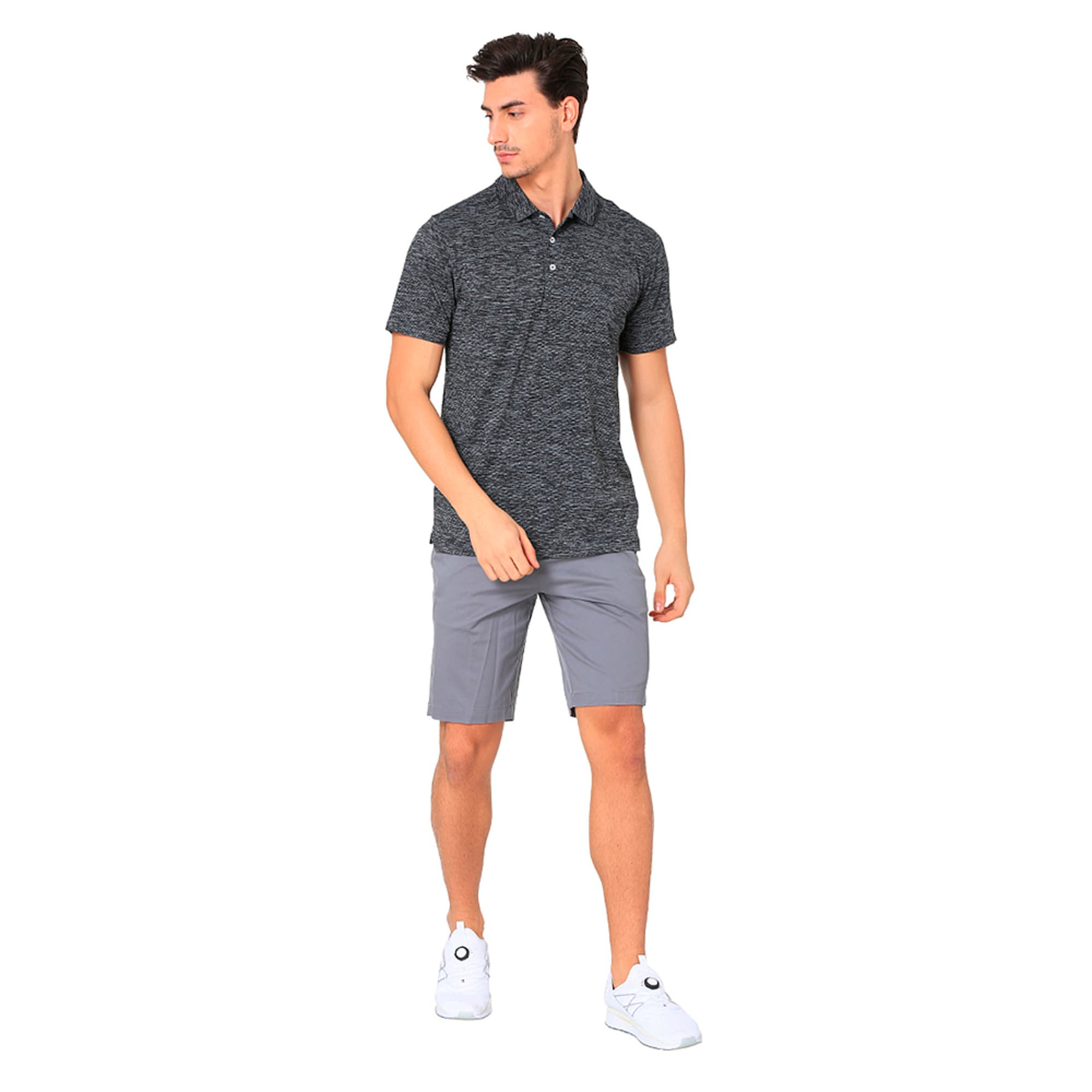 Thumbnail 6 of Essential Men's Golf Polo, Puma Black, medium-IND