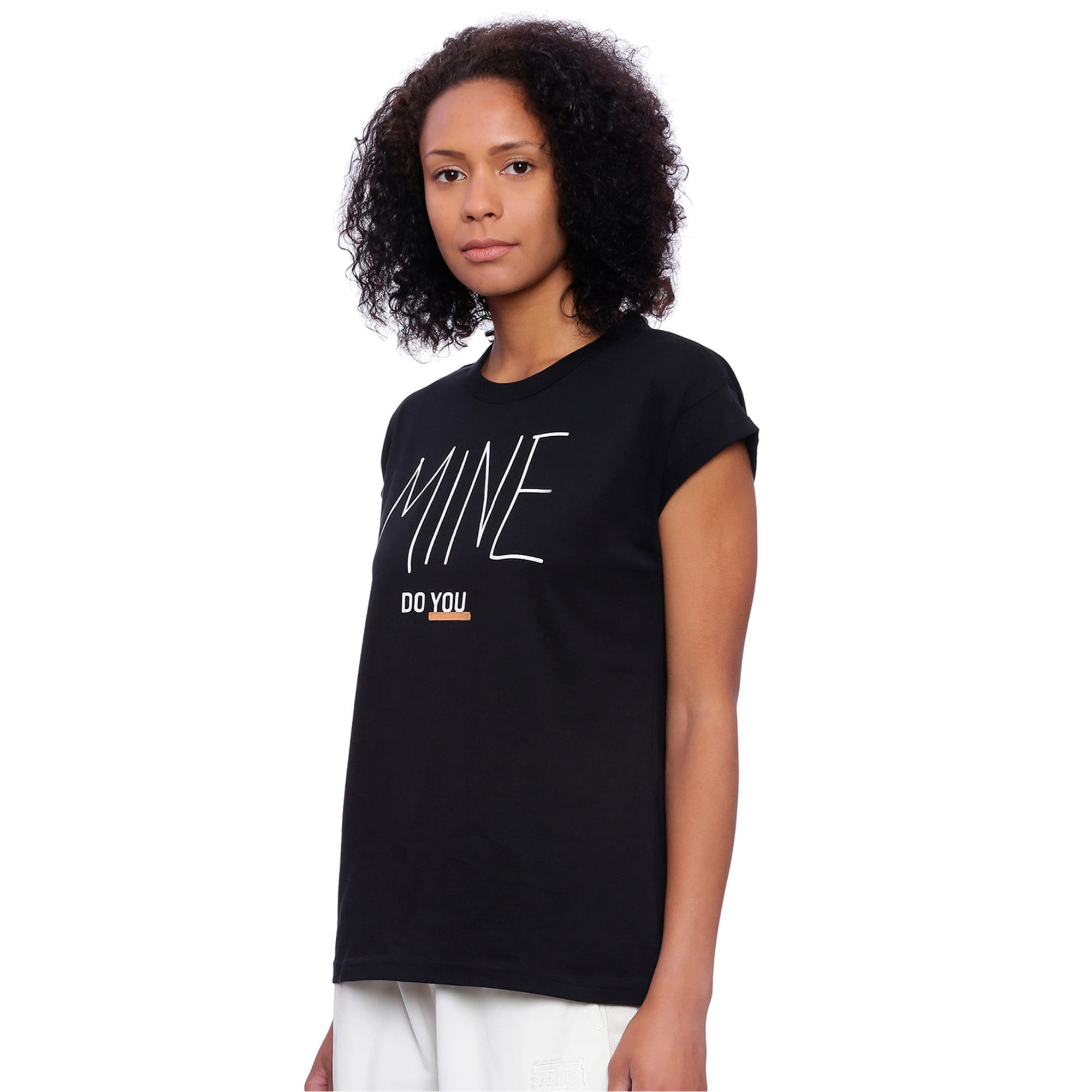 Thumbnail 2 of Do You Tee, Cotton Black, medium-IND