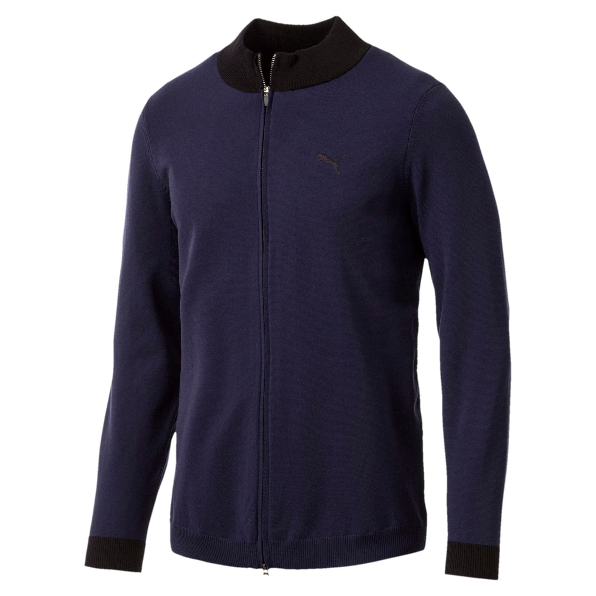 Thumbnail 4 of Golf Men's evoKNIT Wind Sweater, Peacoat, medium