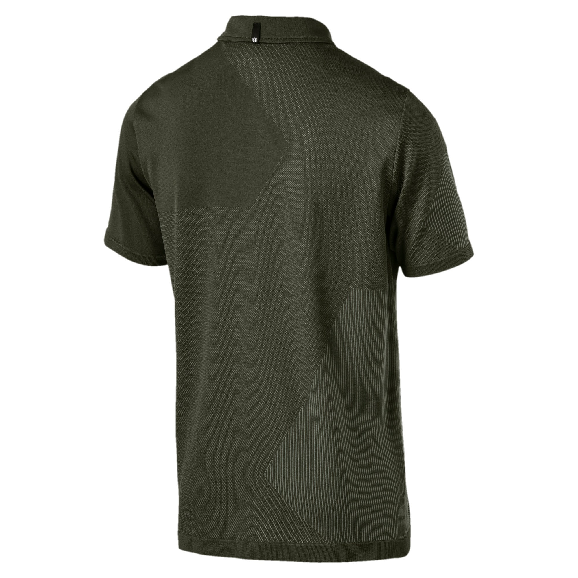 Thumbnail 2 of Men's evoKNIT Dassler Polo, Forest Night, medium