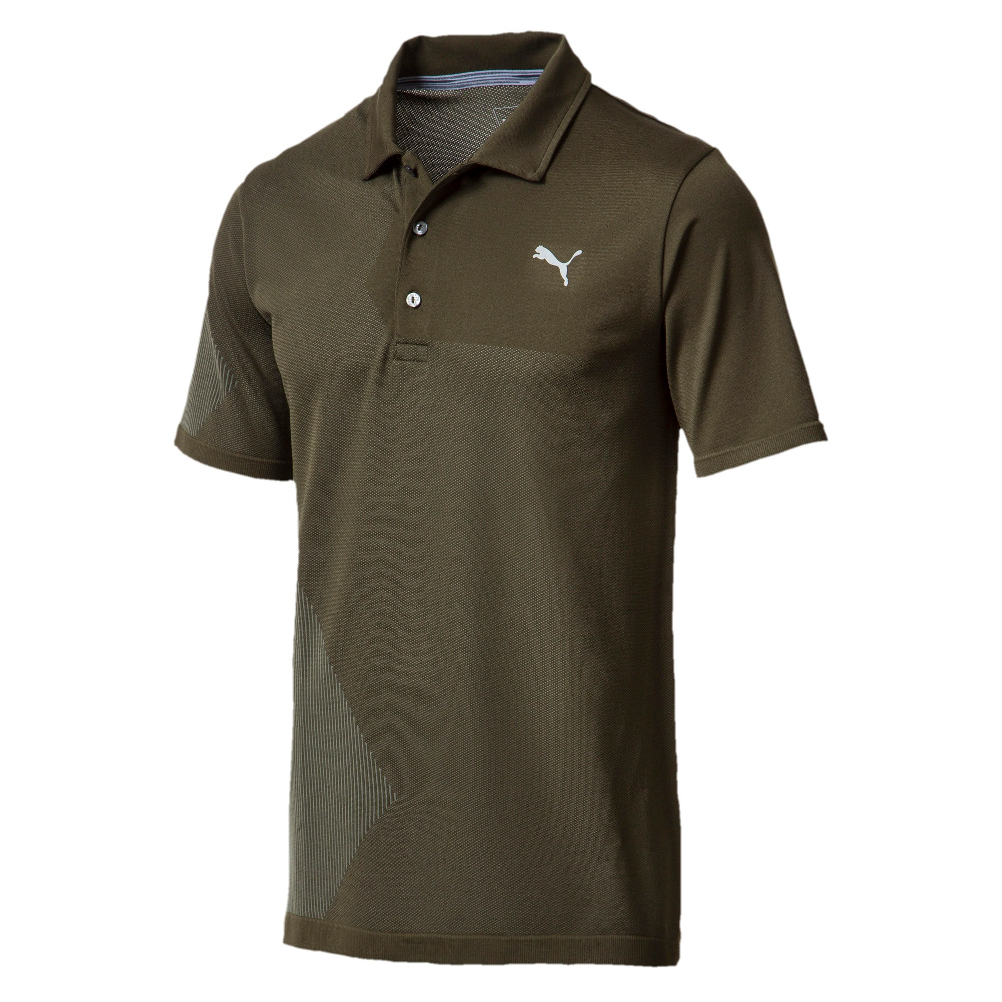 Thumbnail 1 of Men's evoKNIT Dassler Polo, Forest Night, medium
