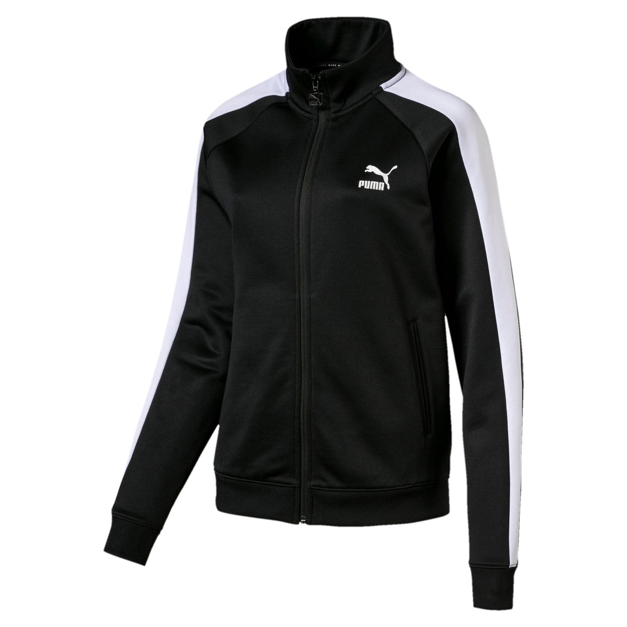 Thumbnail 1 of Classics Women's T7 Track Jacket, Puma Black, medium