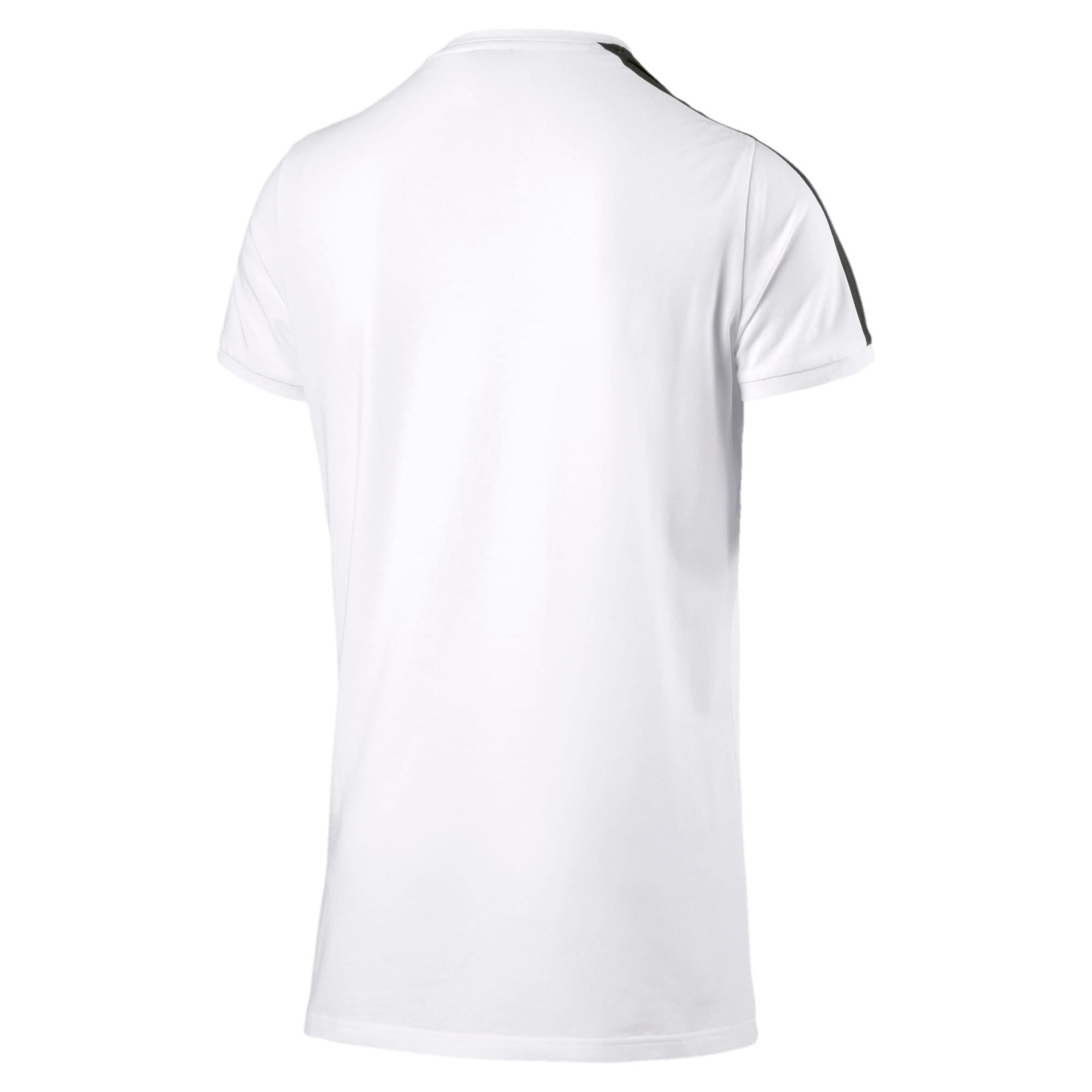 Thumbnail 4 of Classics Herren Slim T7 T-Shirt, Puma White, medium