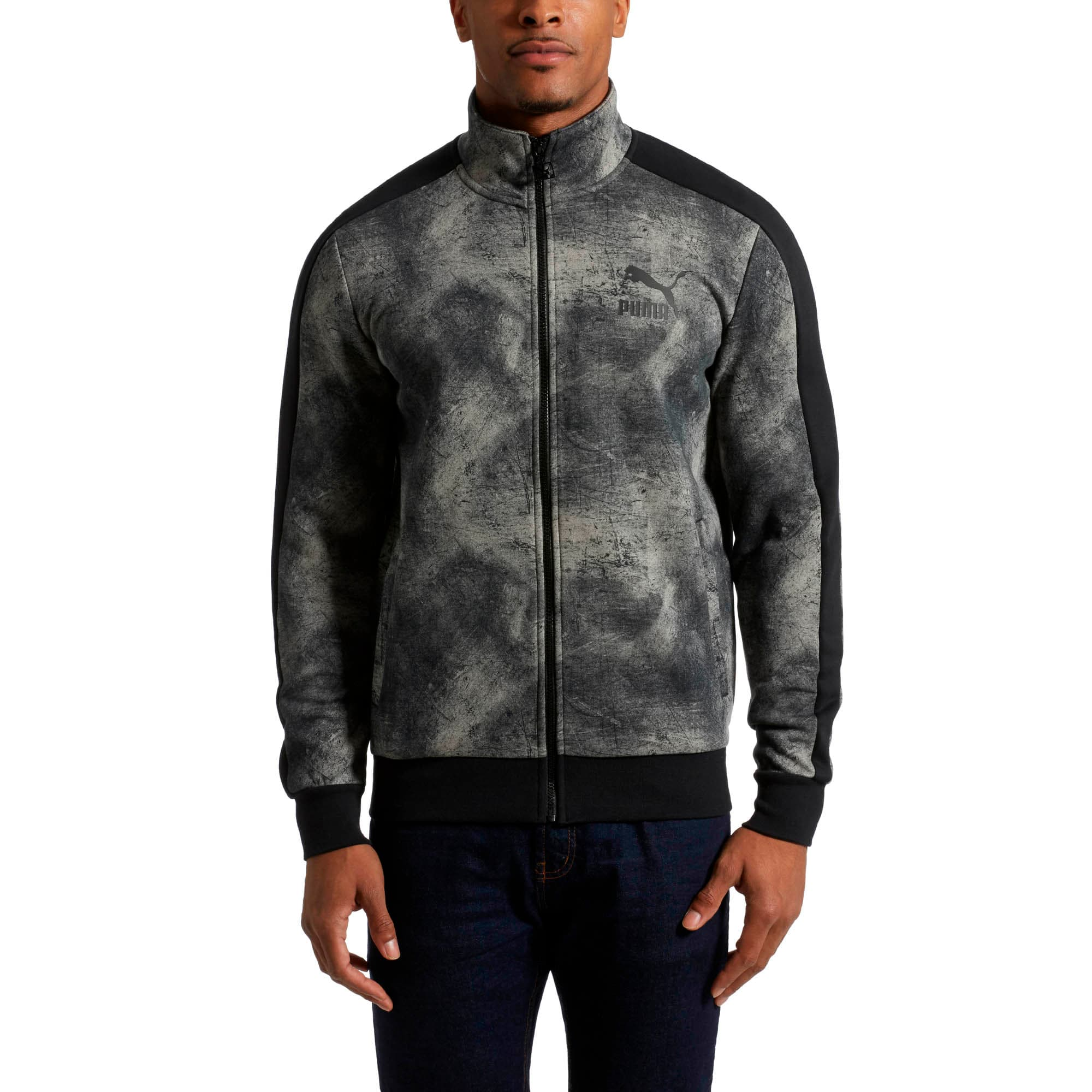 Thumbnail 2 of Classics All-Over Print T7 Men's Jacket, Elephant Skin, medium