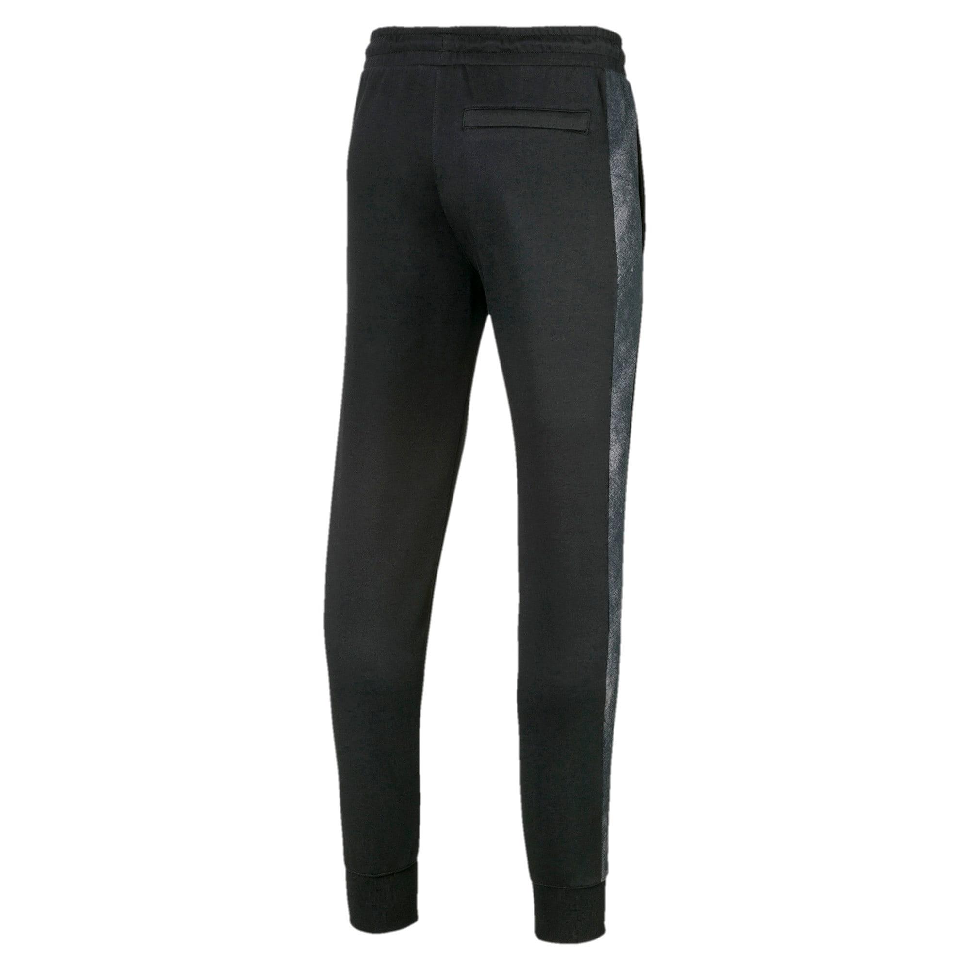 Thumbnail 5 of Classics All-Over Print T7 Men's Pants, Puma Black-3, medium-IND