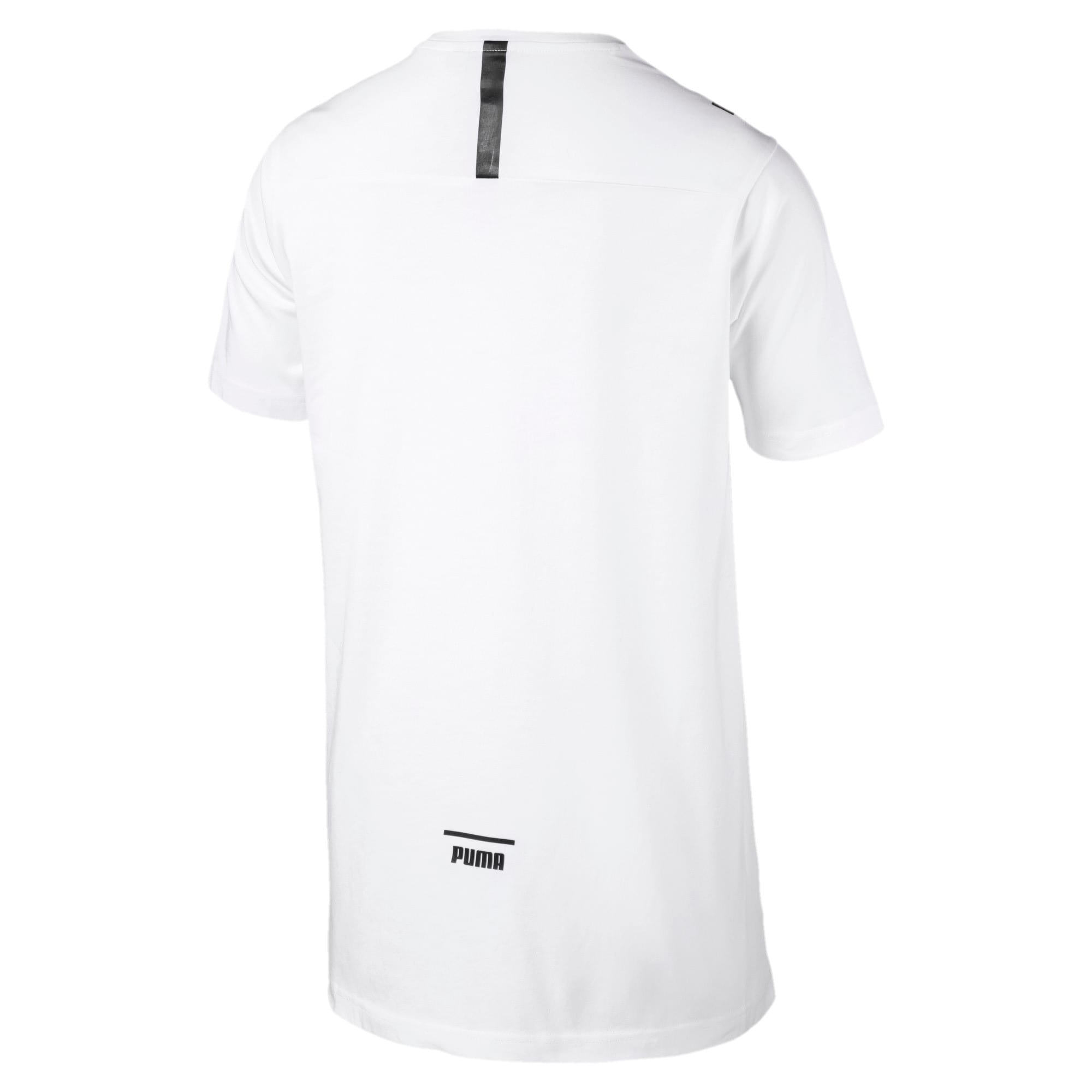 Thumbnail 5 of Pace Men's Tee, Puma White, medium-IND