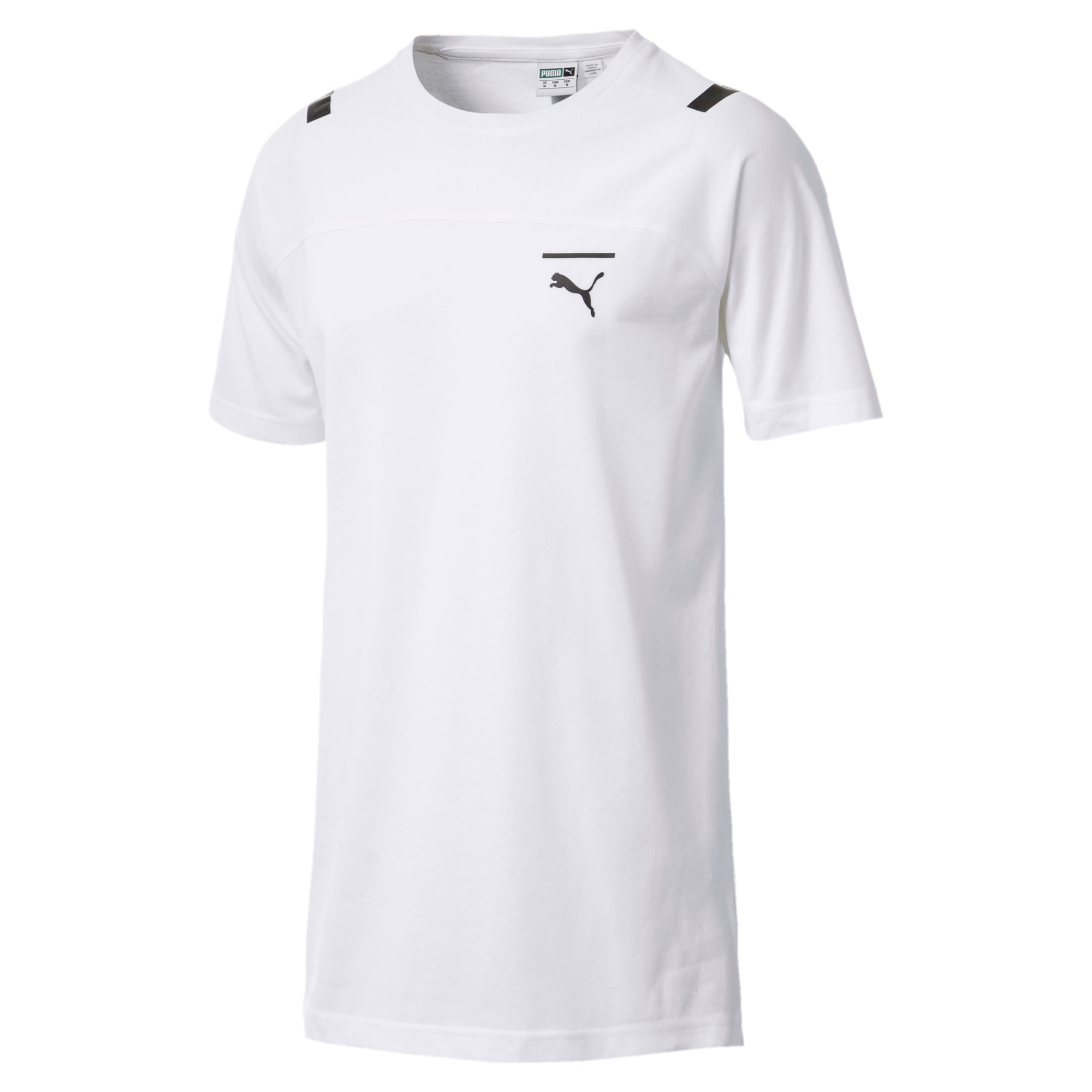 Thumbnail 1 of Pace Men's Tee, Puma White, medium-IND
