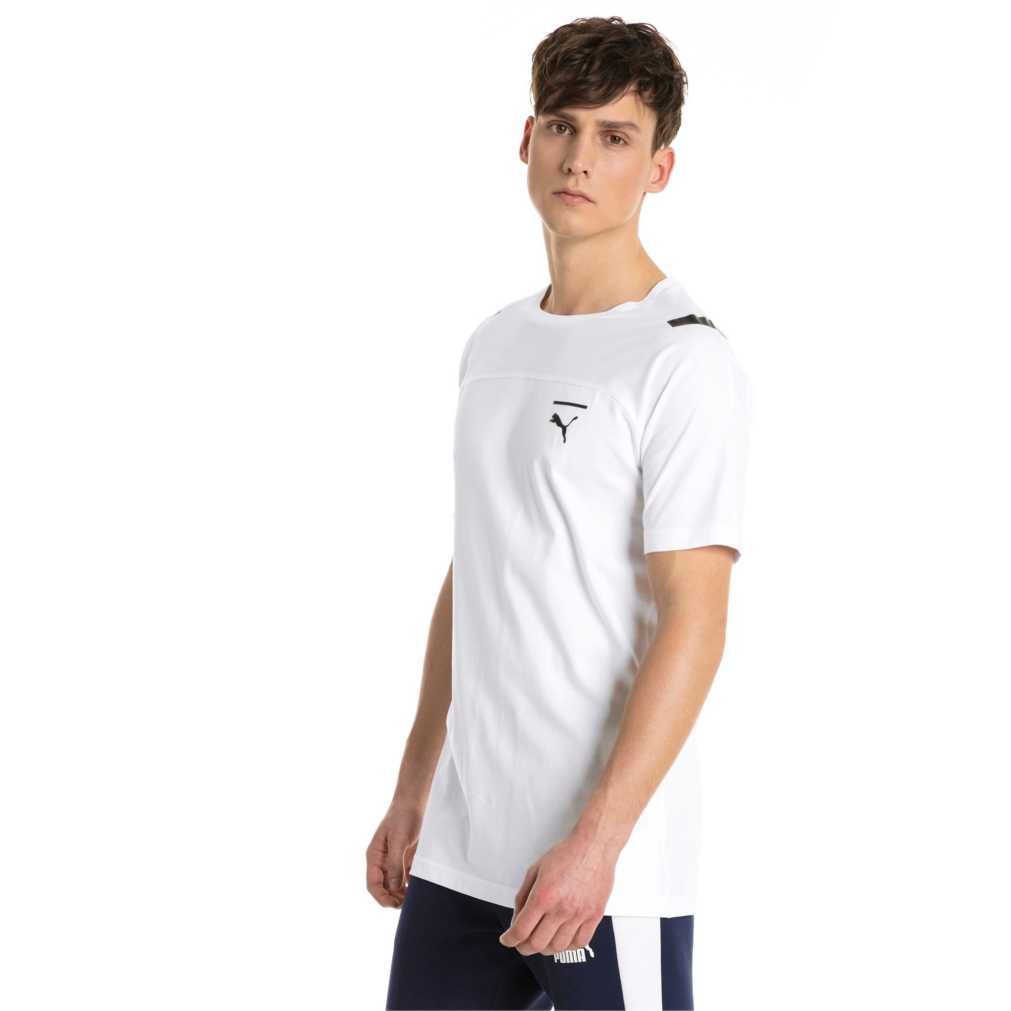 Thumbnail 2 of Pace Men's Tee, Puma White, medium-IND