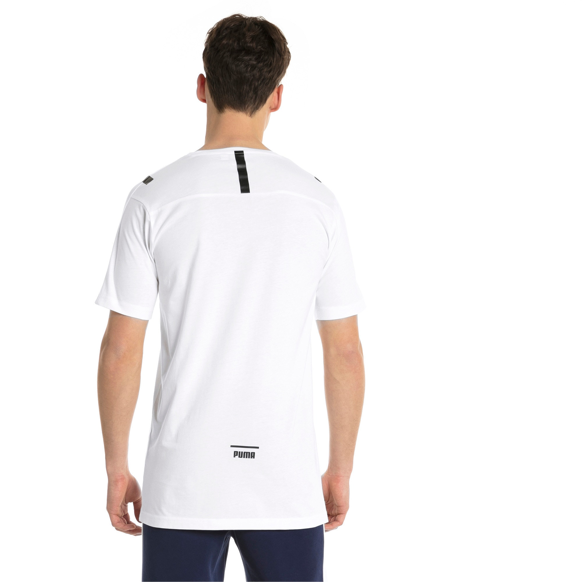 Thumbnail 3 of Pace Men's Tee, Puma White, medium-IND
