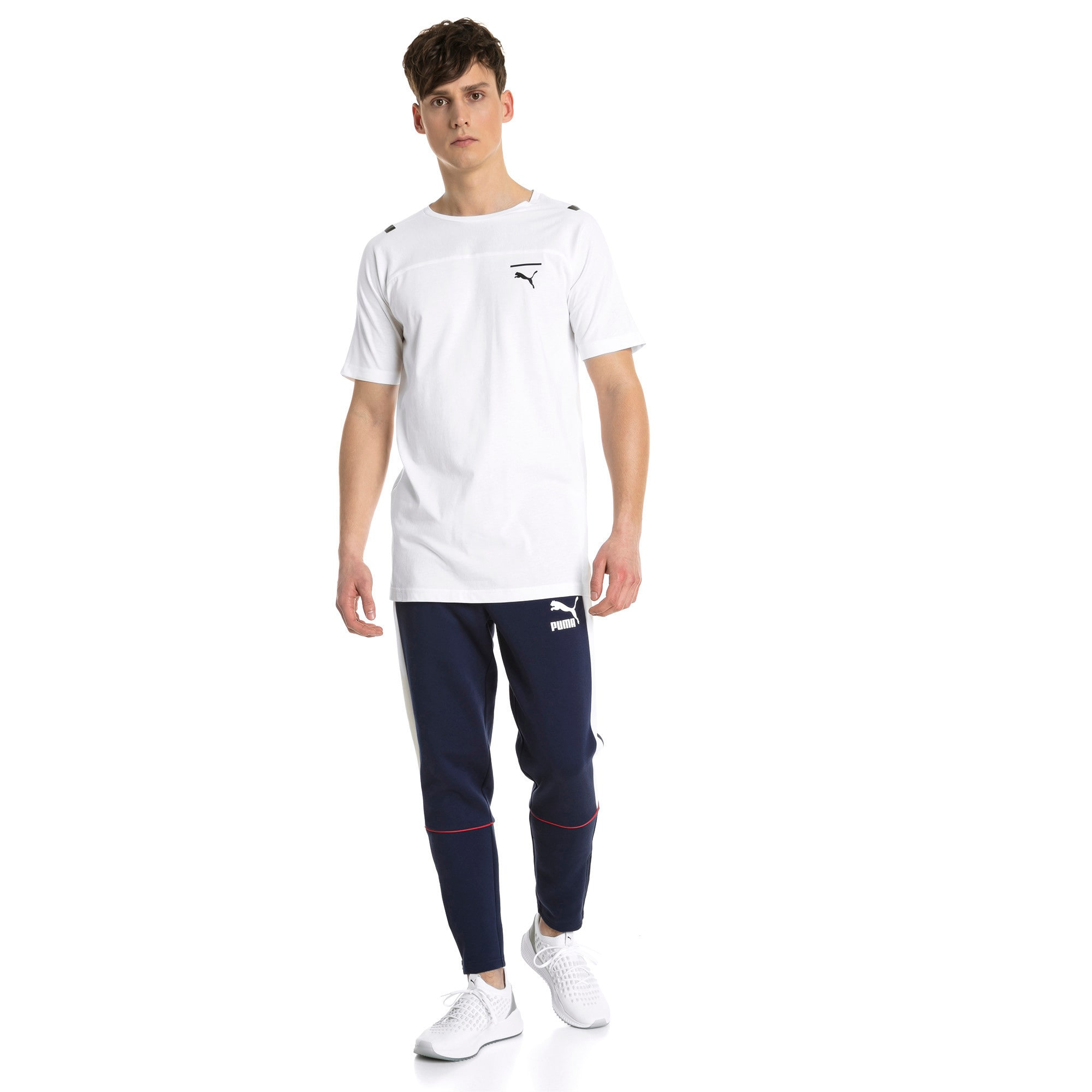 Thumbnail 4 of Pace Men's Tee, Puma White, medium-IND