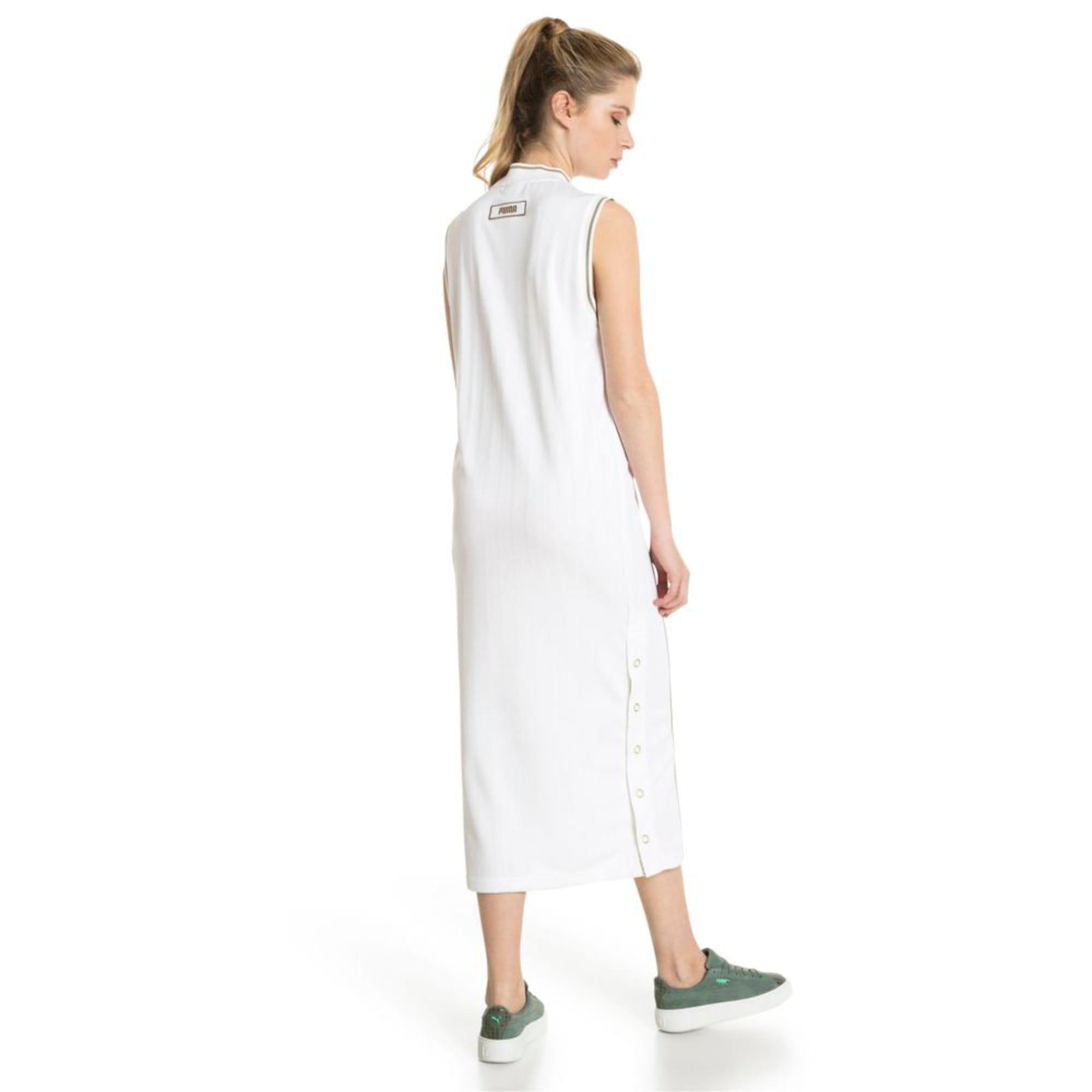 Thumbnail 5 of Retro Women's Dress, Puma White, medium-IND