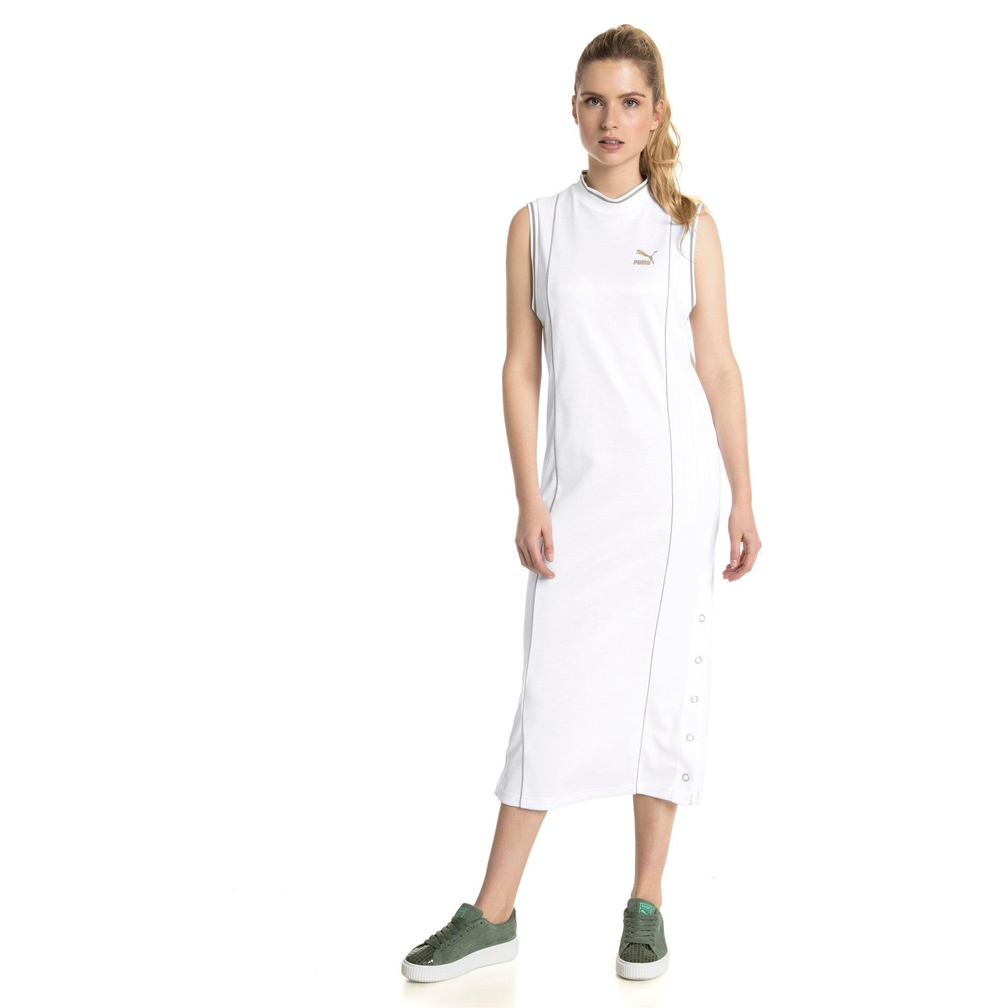 Thumbnail 3 of Retro Women's Dress, Puma White, medium-IND