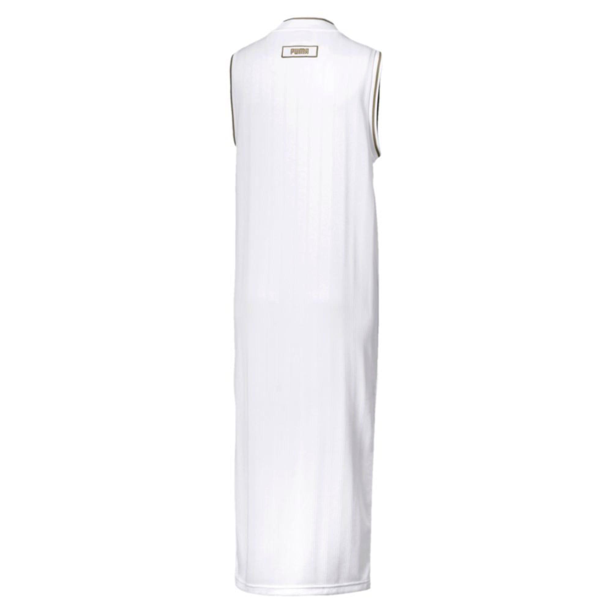 Thumbnail 2 of Retro Women's Dress, Puma White, medium-IND