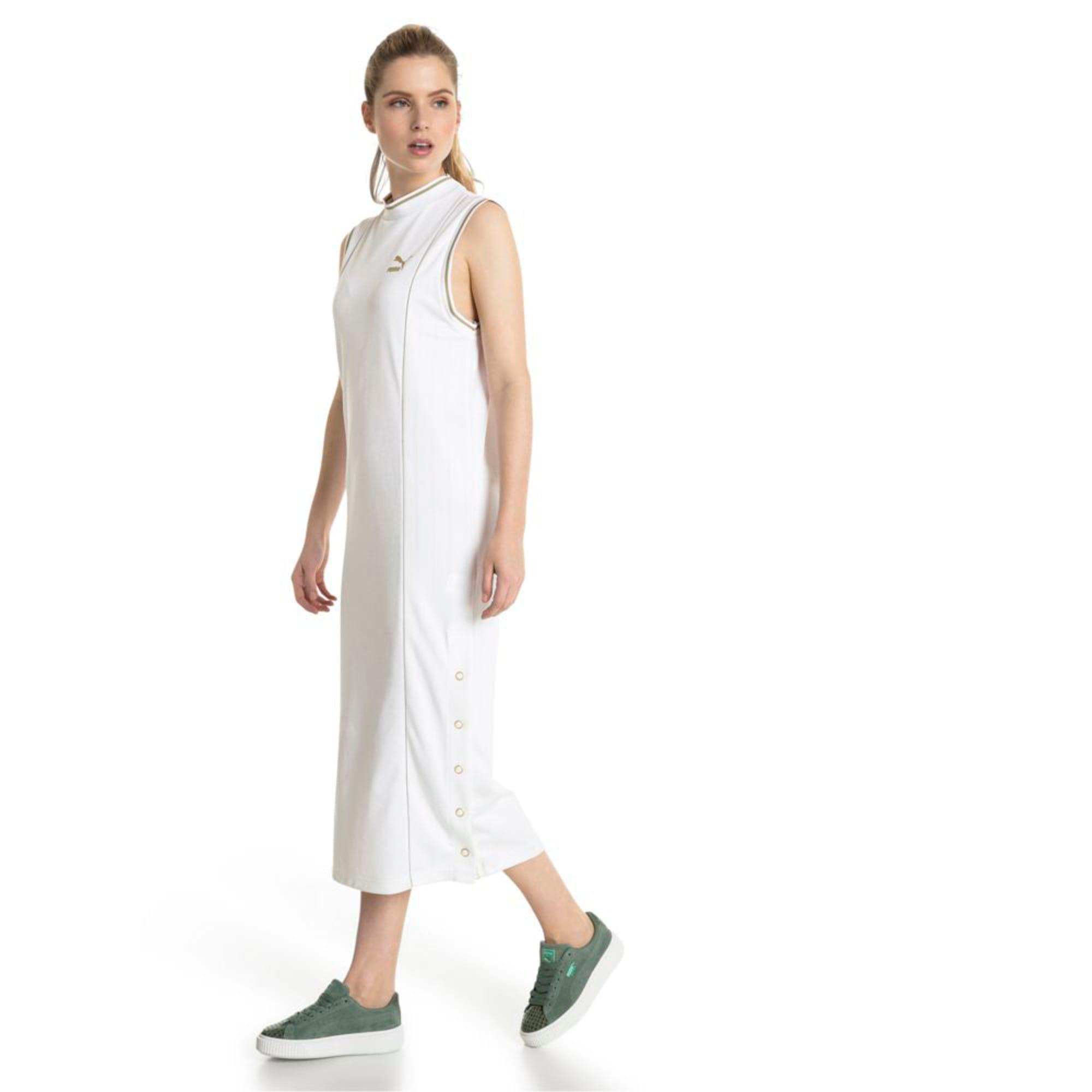 Thumbnail 4 of Retro Women's Dress, Puma White, medium-IND