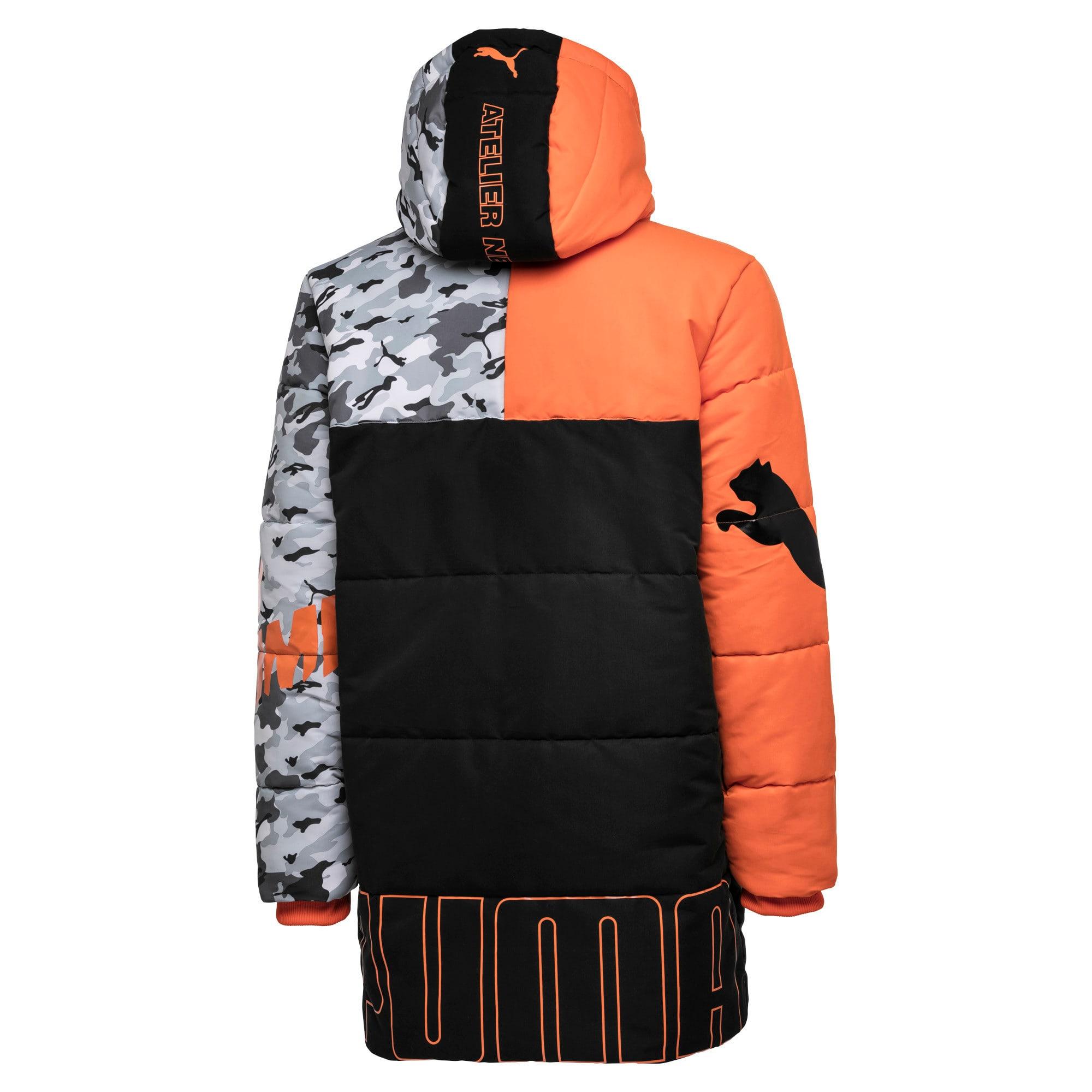 Thumbnail 4 of PUMA x ATELIER NEW REGIME Long Zip-Up Men's Hooded Jacket, Puma Black, medium