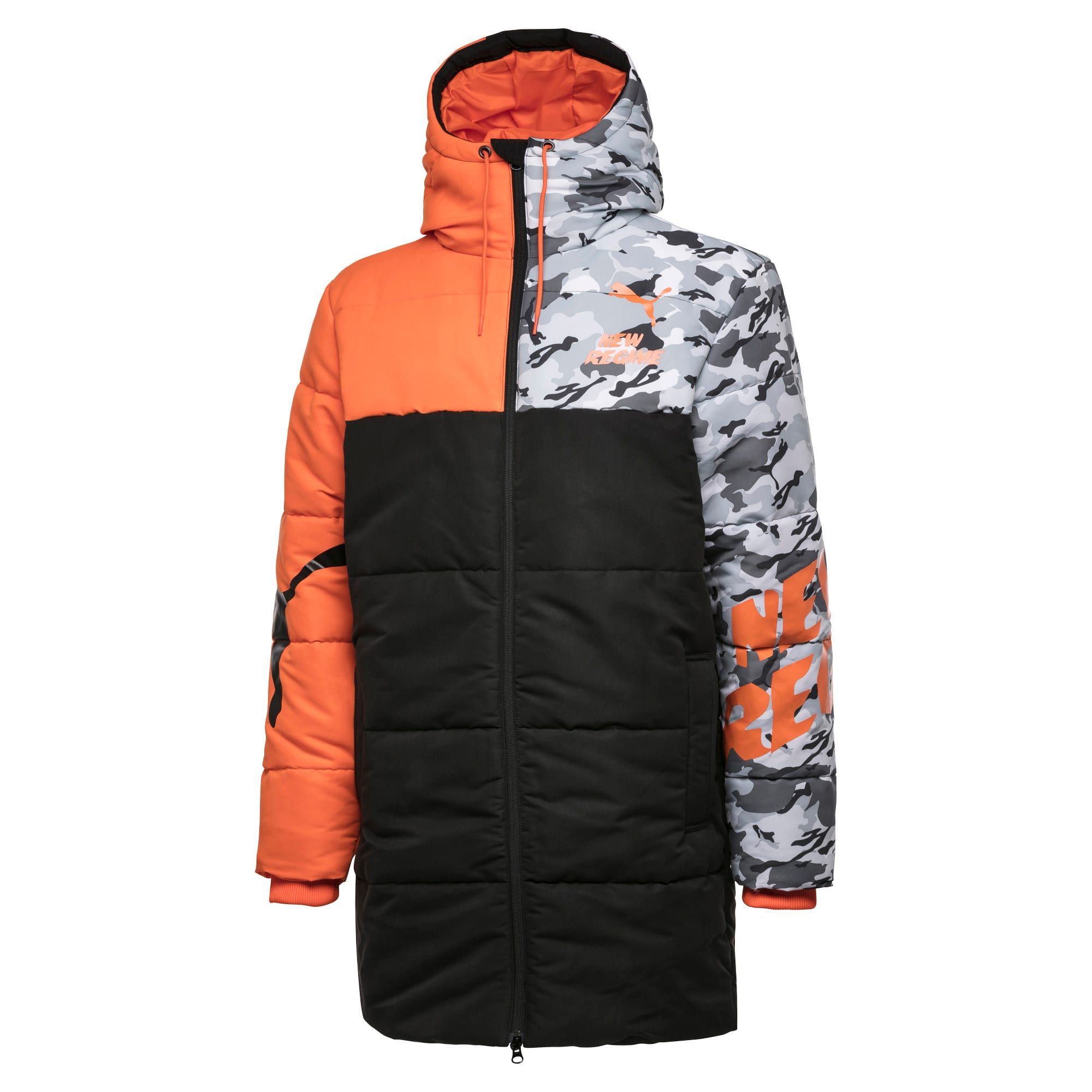 Thumbnail 1 of PUMA x ATELIER NEW REGIME Long Zip-Up Men's Hooded Jacket, Puma Black, medium