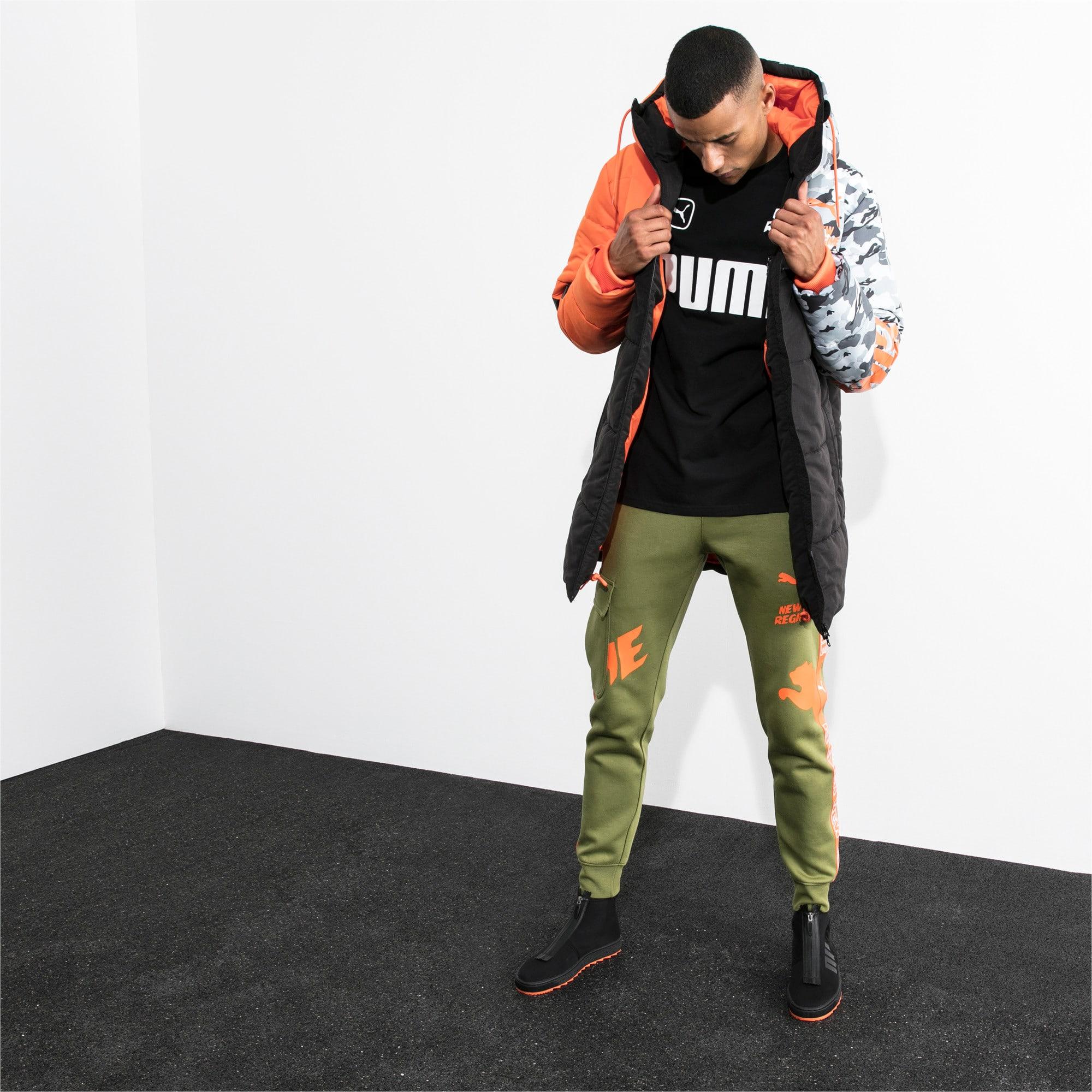 Thumbnail 2 of PUMA x ATELIER NEW REGIME Long Zip-Up Men's Hooded Jacket, Puma Black, medium
