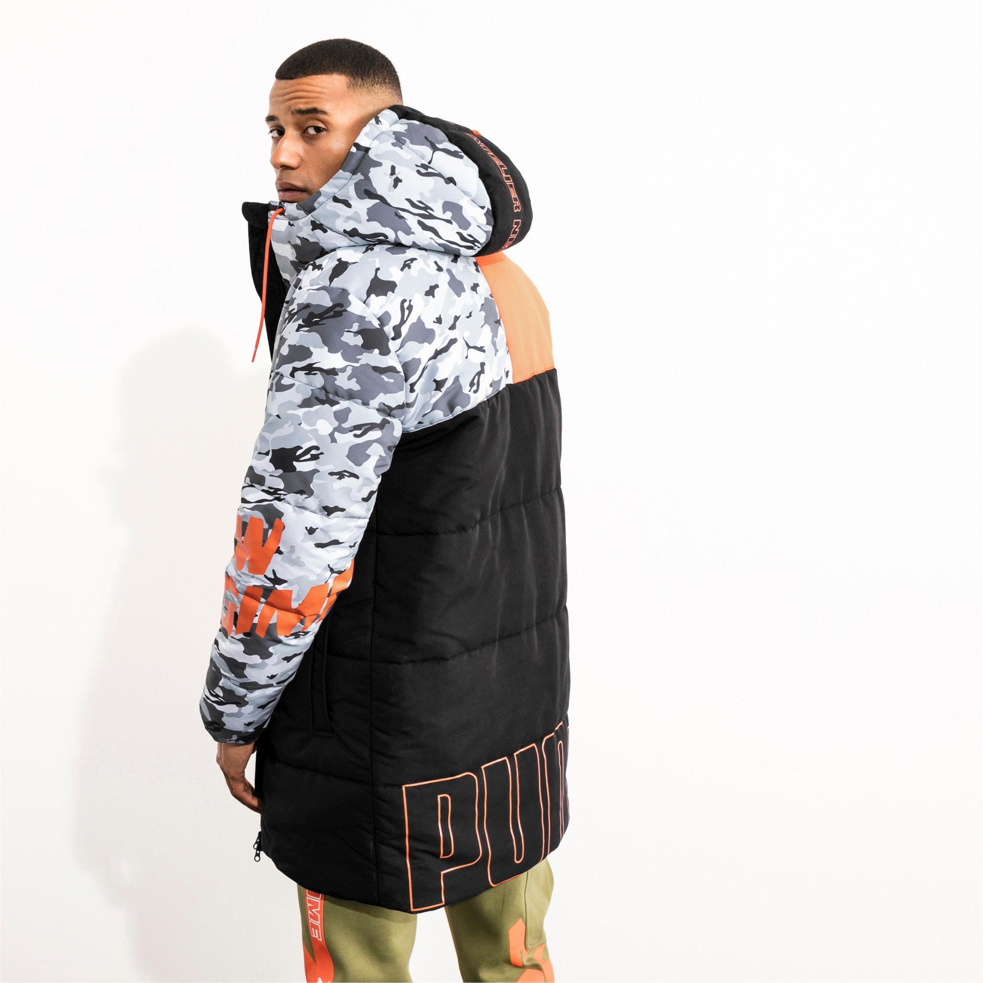 Thumbnail 3 of PUMA x ATELIER NEW REGIME Long Zip-Up Men's Hooded Jacket, Puma Black, medium