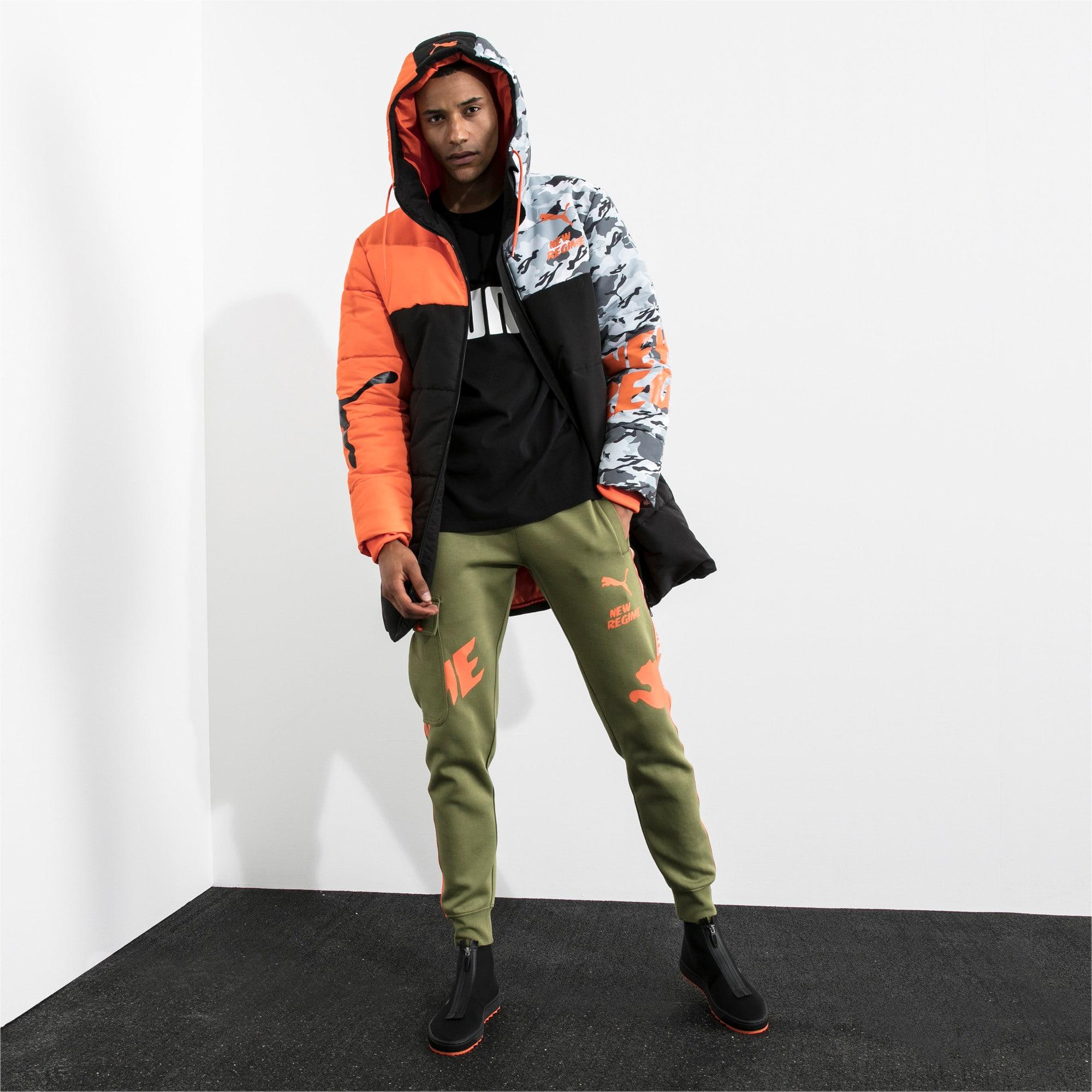 Thumbnail 5 of PUMA x ATELIER NEW REGIME Long Zip-Up Men's Hooded Jacket, Puma Black, medium