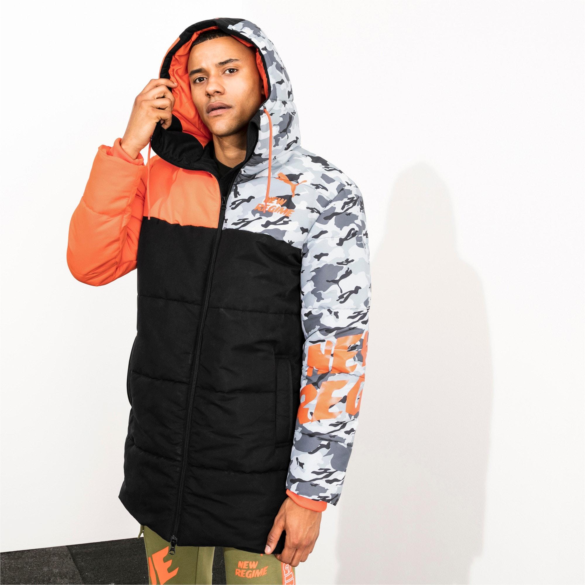 Thumbnail 7 of PUMA x ATELIER NEW REGIME Long Zip-Up Men's Hooded Jacket, Puma Black, medium