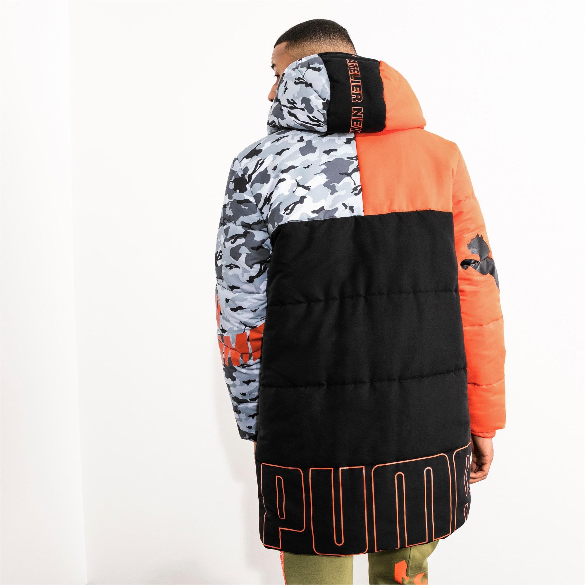 Thumbnail 8 of PUMA x ATELIER NEW REGIME Long Zip-Up Men's Hooded Jacket, Puma Black, medium