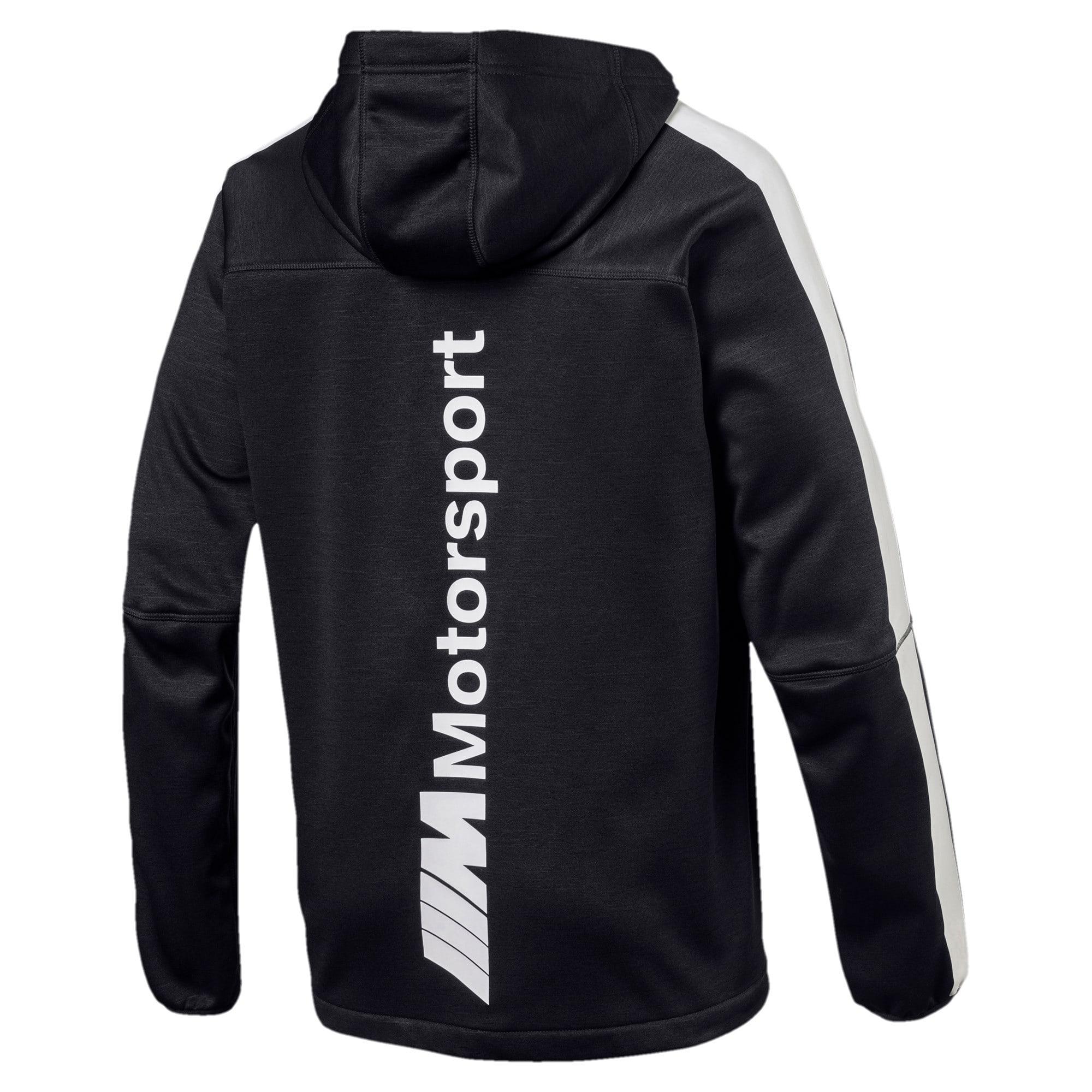 Thumbnail 2 of BMW M Motorsport Men's Life Softshell Jacket, Puma Black, medium