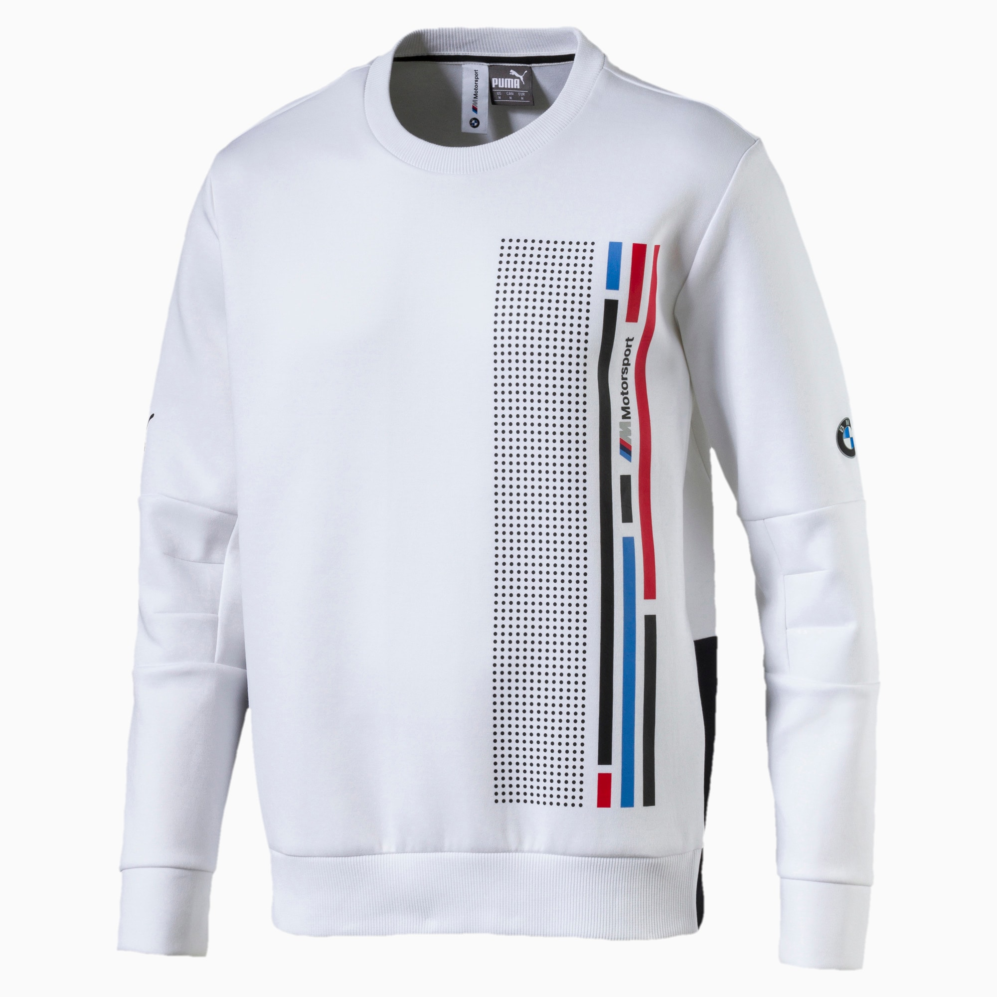 Puma 576644 01 BMW Motorsport Graphic Anthracite Men/'s Crew Neck