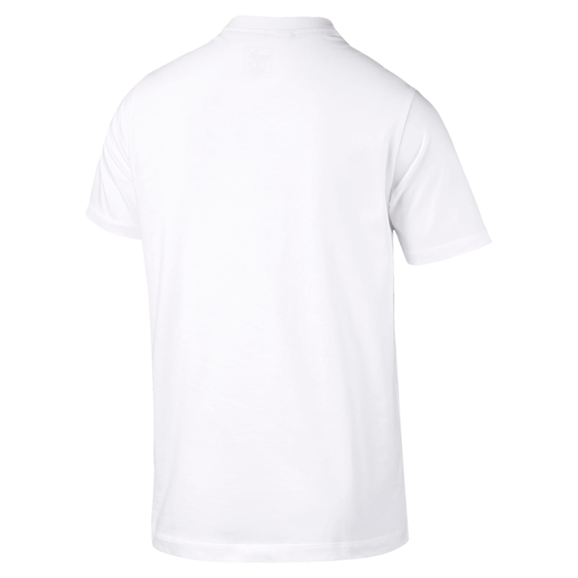 Thumbnail 4 of BMW M Motorsport Men's Graphic T-Shirt, Puma White, medium-IND