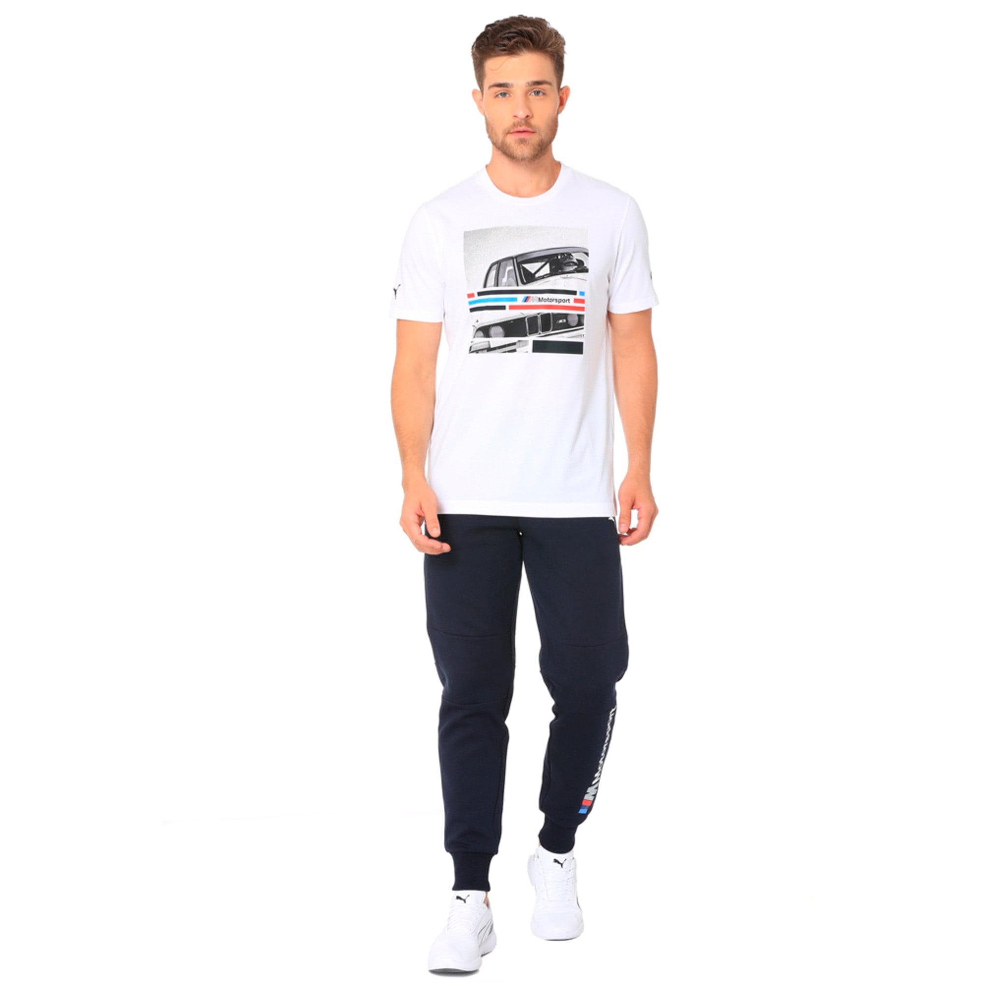 Thumbnail 2 of BMW M Motorsport Men's Graphic T-Shirt, Puma White, medium-IND