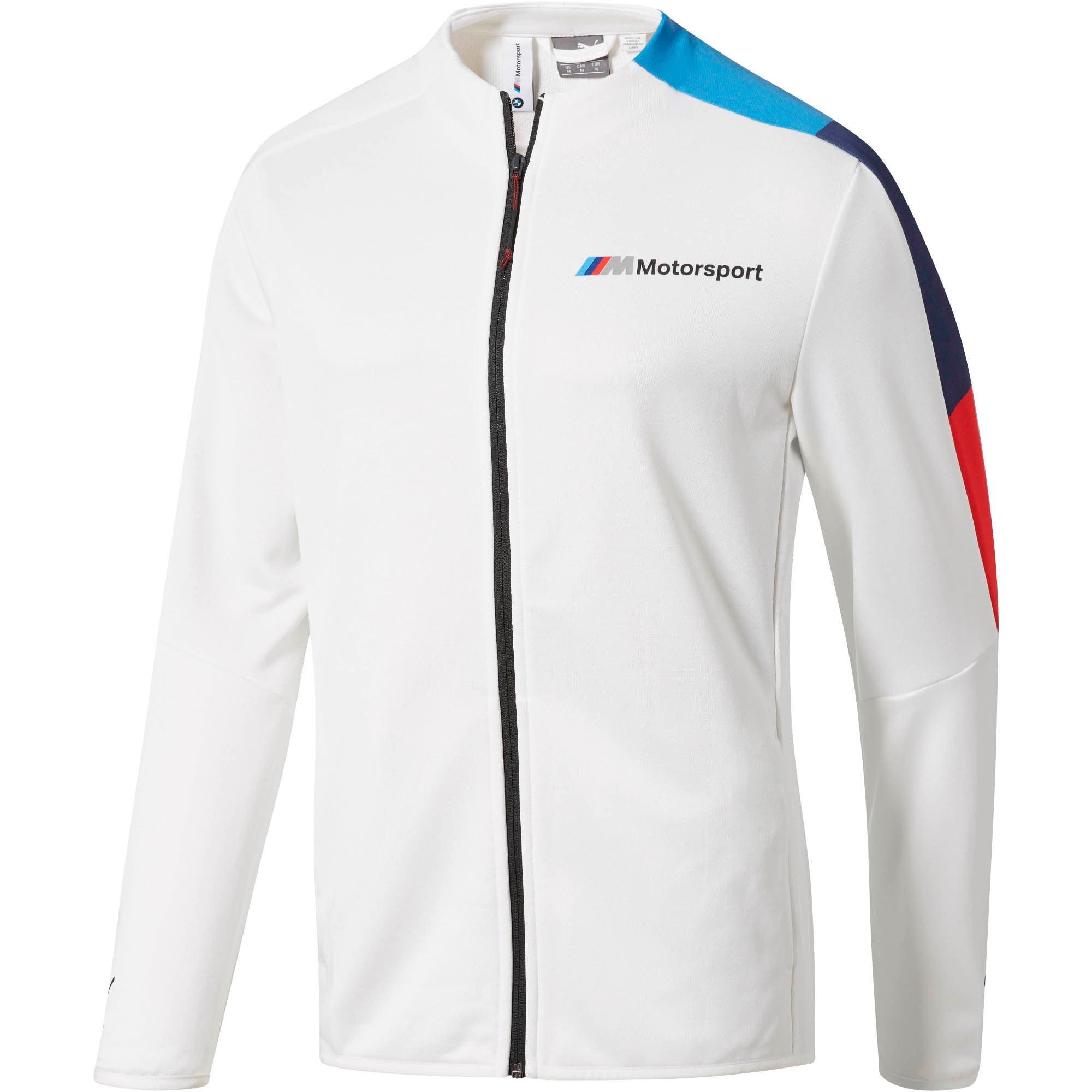 Thumbnail 1 of BMW M Motorsport Men's T7 Track Jacket, Puma White, medium