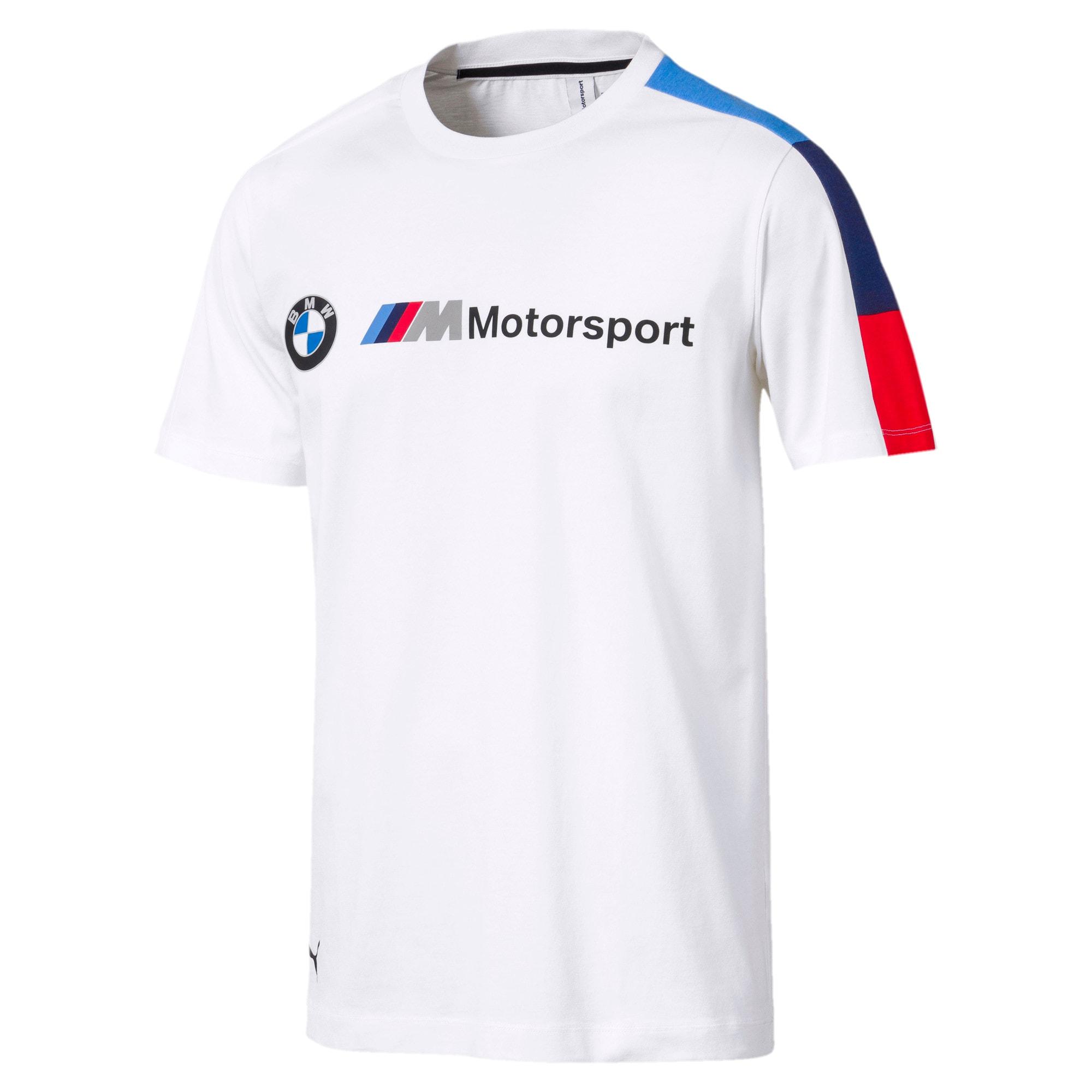 Thumbnail 1 of BMW M Motorsport Men's T7 Tee, Puma White, medium