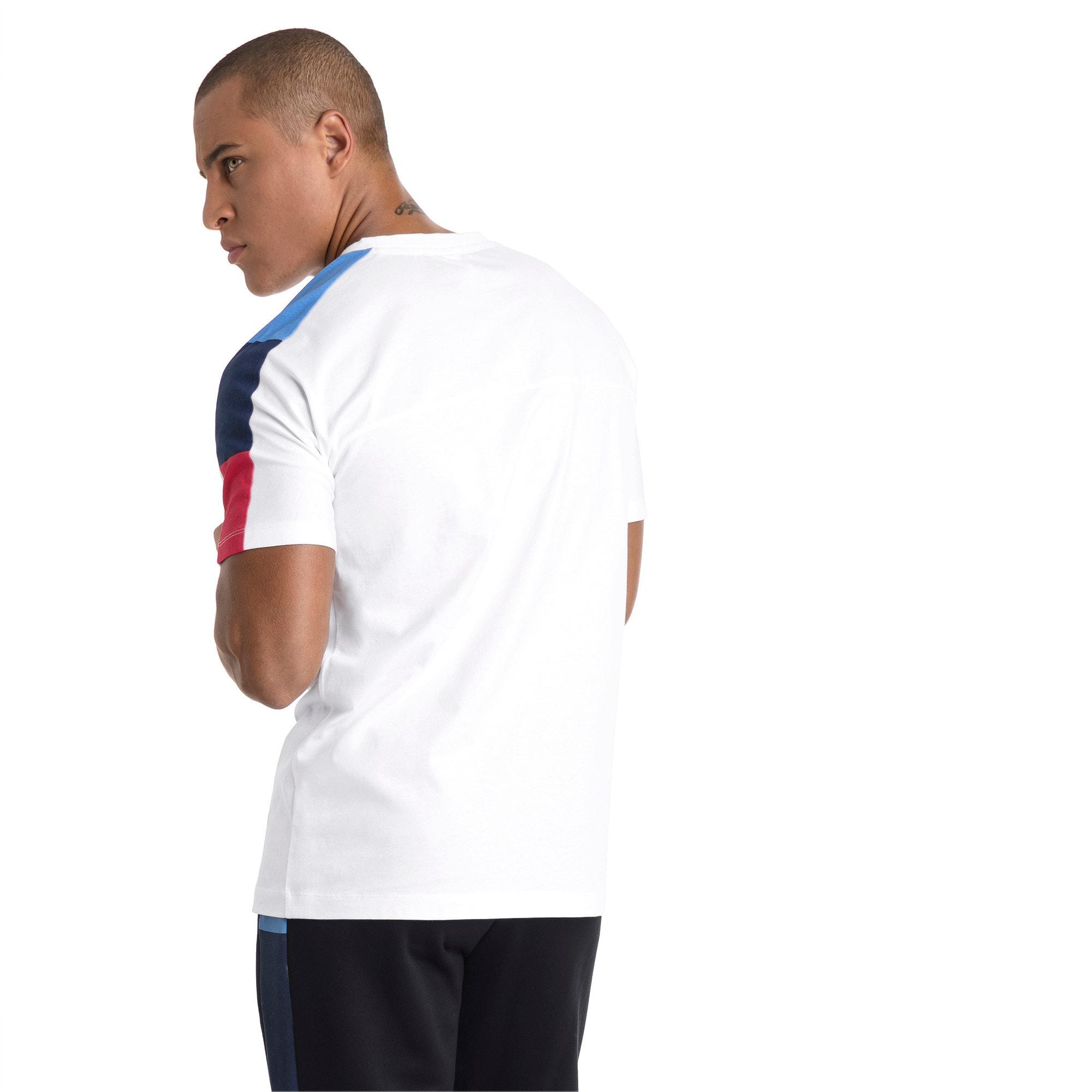 Thumbnail 3 of BMW M Motorsport Men's T7 T-Shirt, Puma White, medium