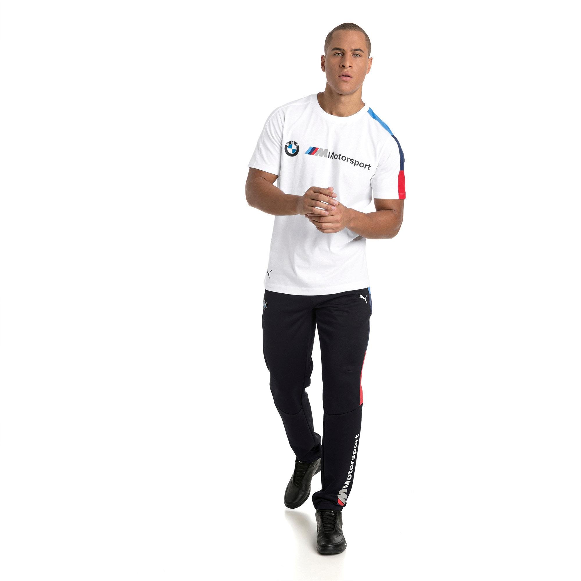 Thumbnail 5 of BMW M Motorsport Men's T7 T-Shirt, Puma White, medium