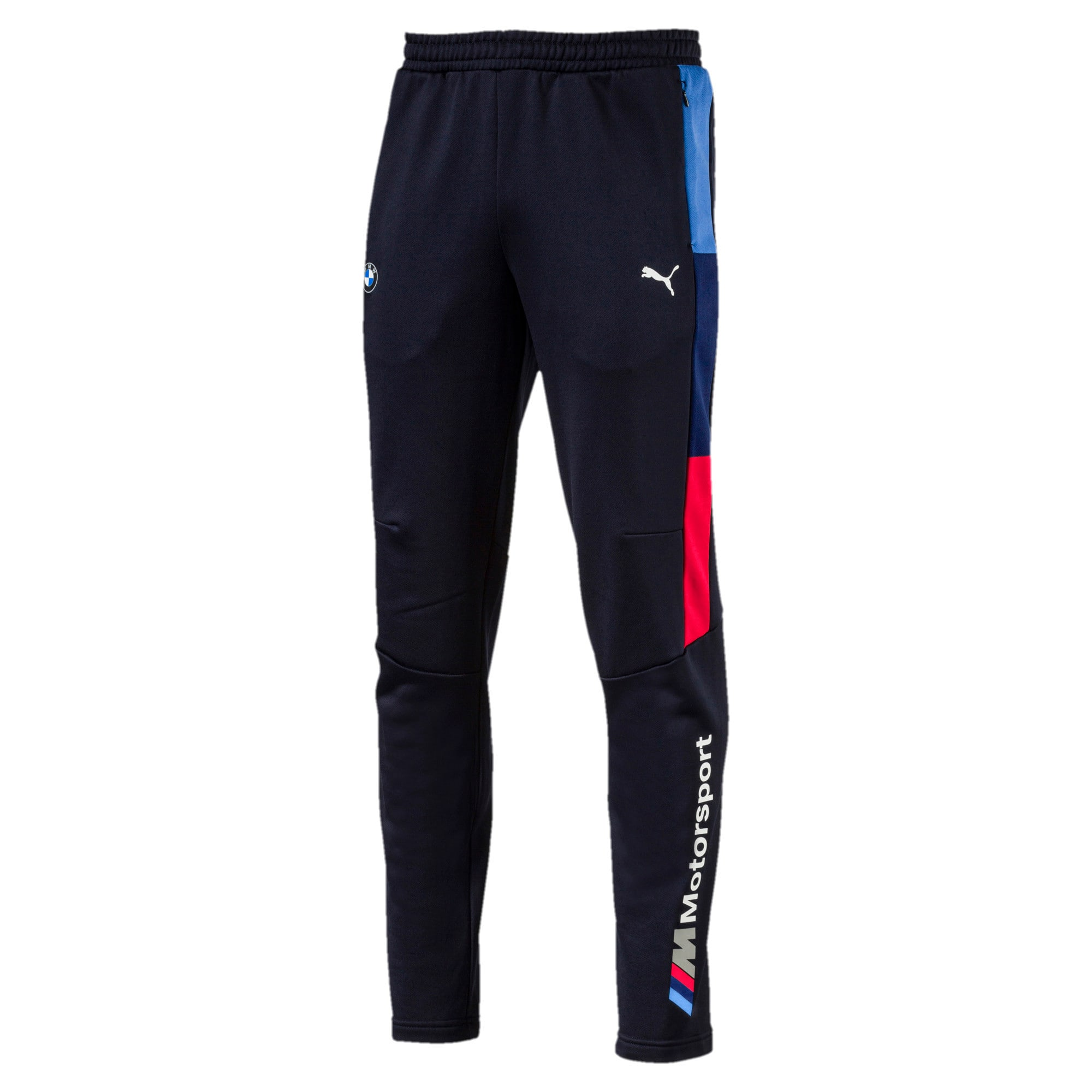 BMW M Motorsport Men's T7 Track Pants, Team Blue, large-IND