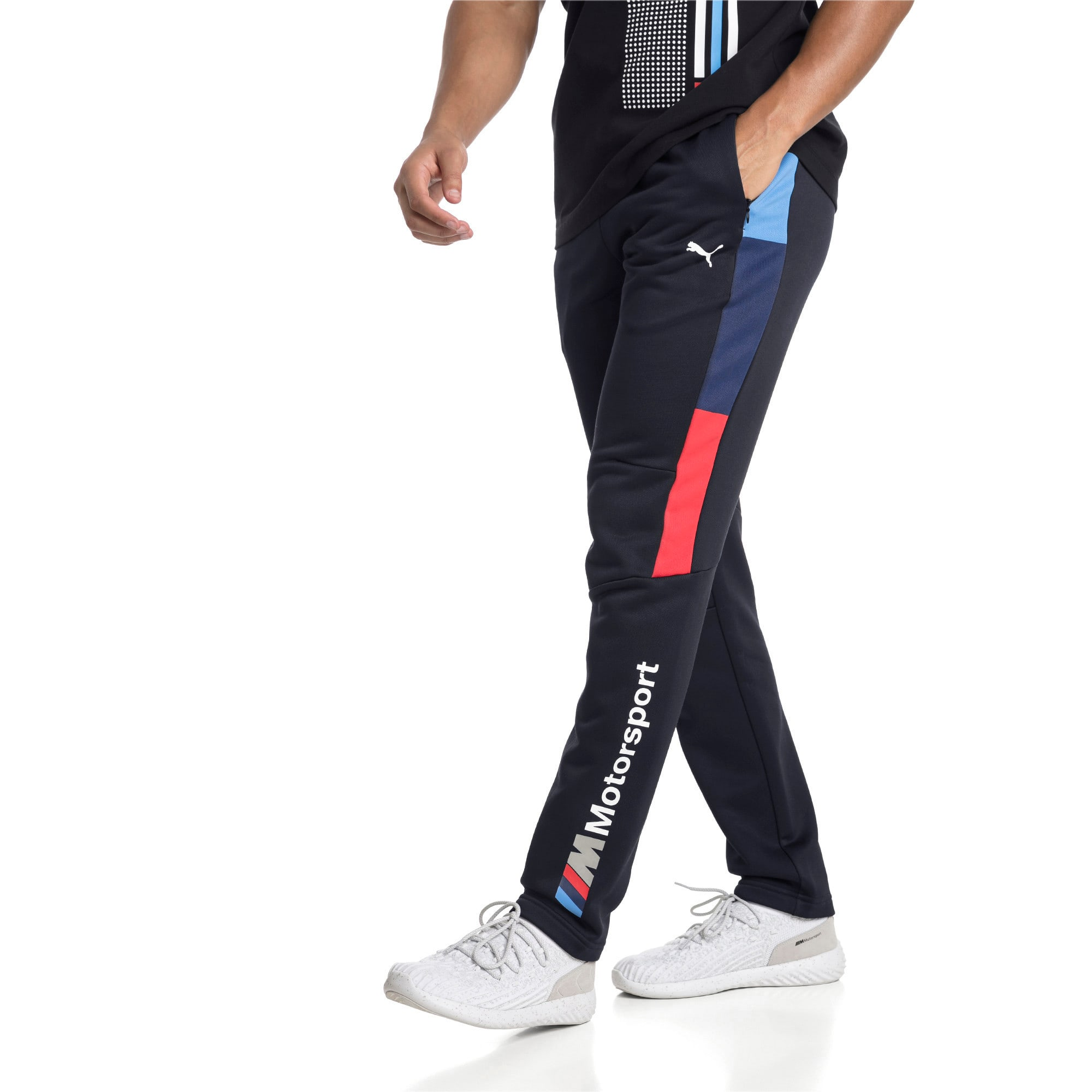 Thumbnail 1 of BMW M Motorsport Men's T7 Track Pants, Team Blue, medium-IND