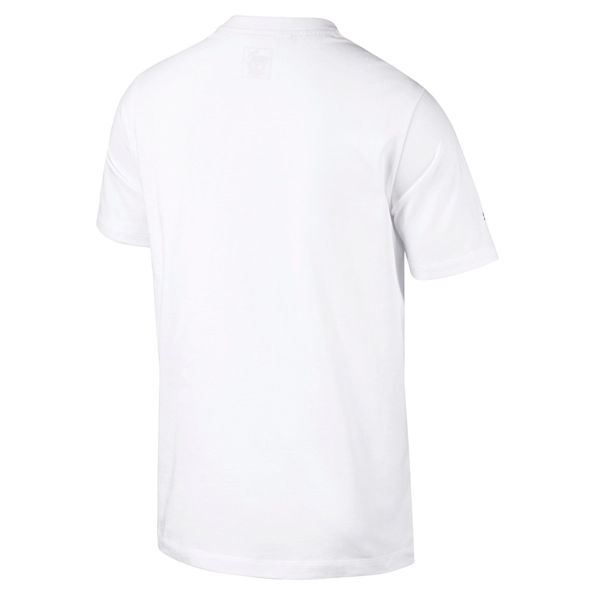 Thumbnail 4 of BMW M Motorsport Men's Logo T-Shirt, Puma White, medium-IND