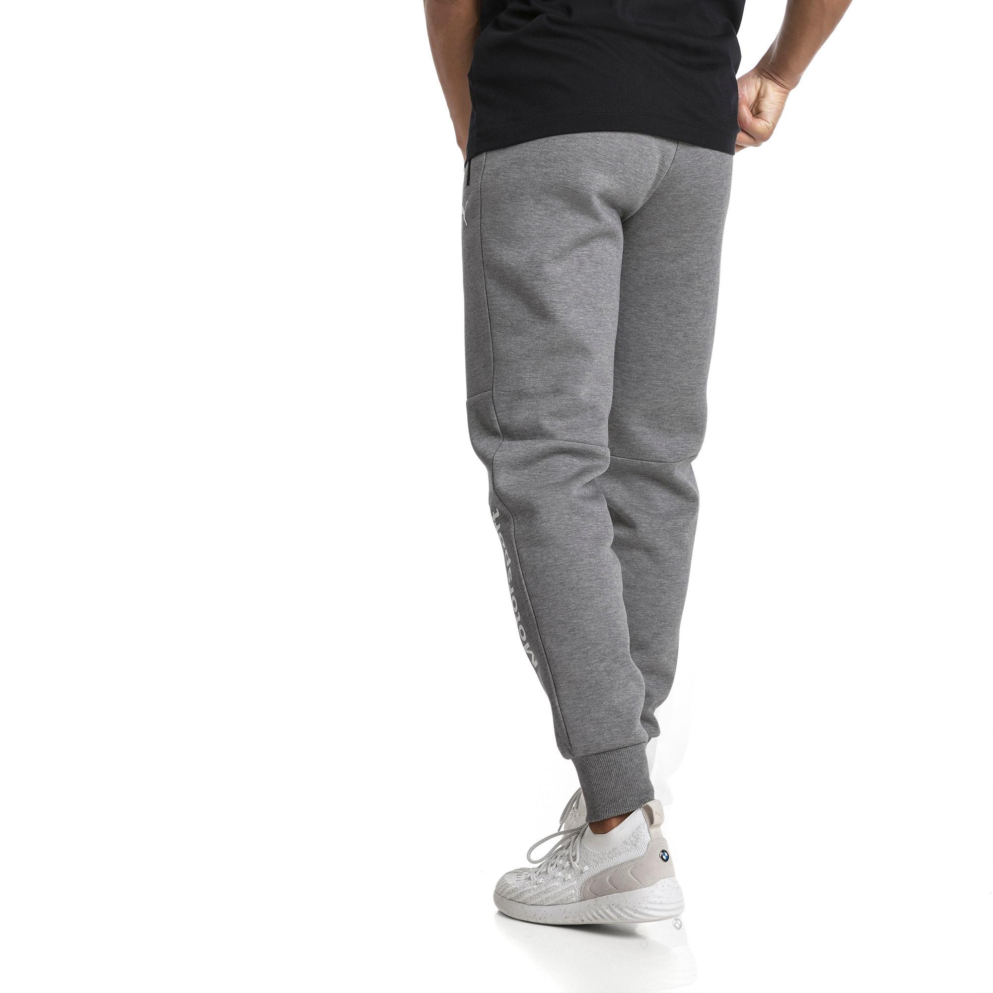 Thumbnail 3 of BMW Men's Sweatpants, Medium Gray Heather, medium