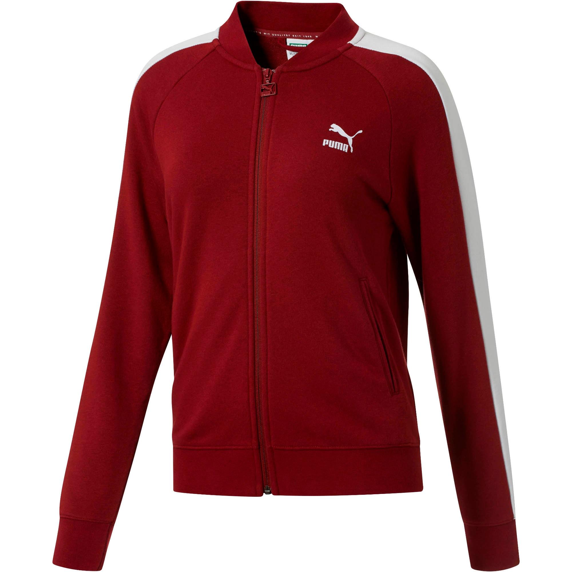 Thumbnail 1 of Classics T7 Women's Track Jacket, Pomegranate, medium