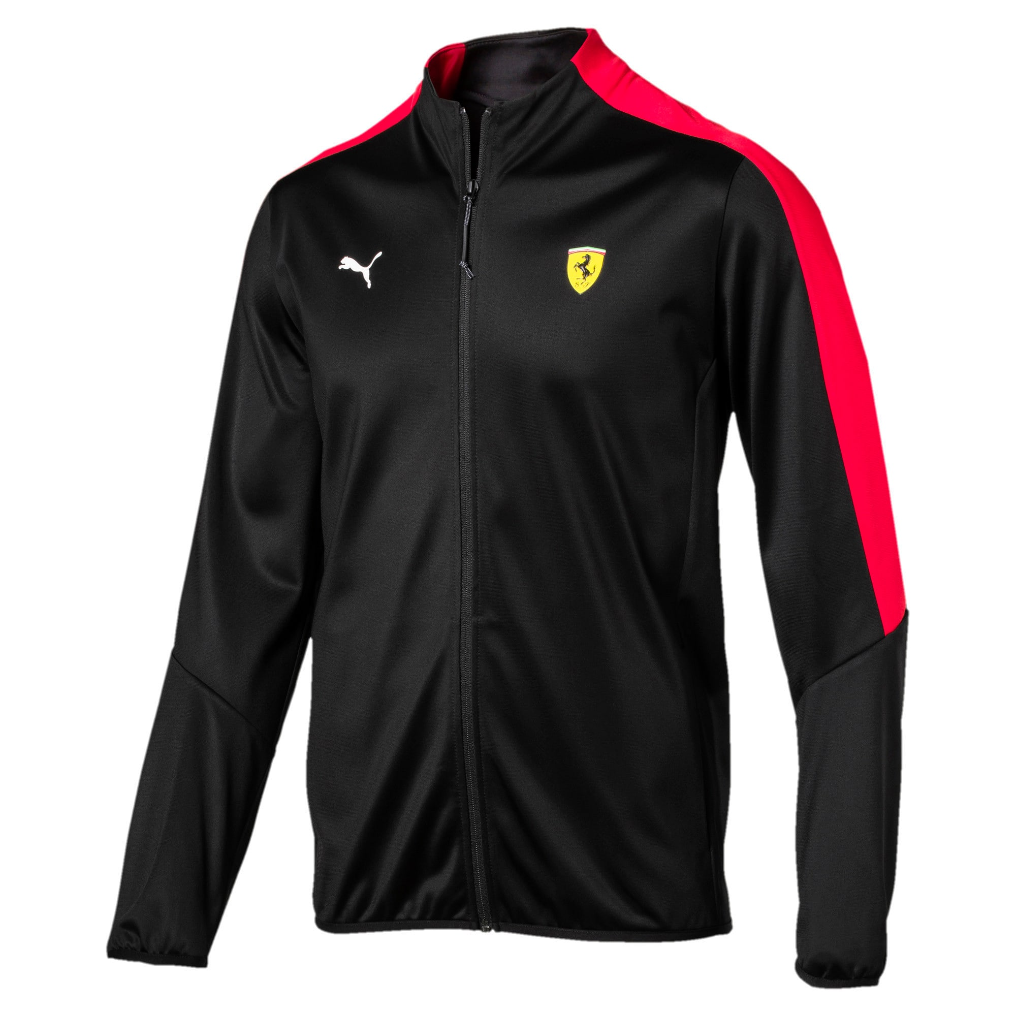 Thumbnail 2 of Ferrari Men's T7 Track Jacket, Puma Black, medium-IND