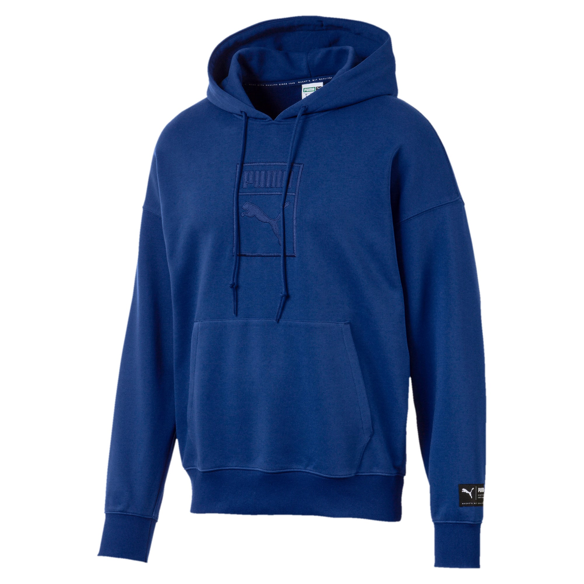 Thumbnail 1 of Downtown Oversize Men's Hoodie, Sodalite Blue, medium