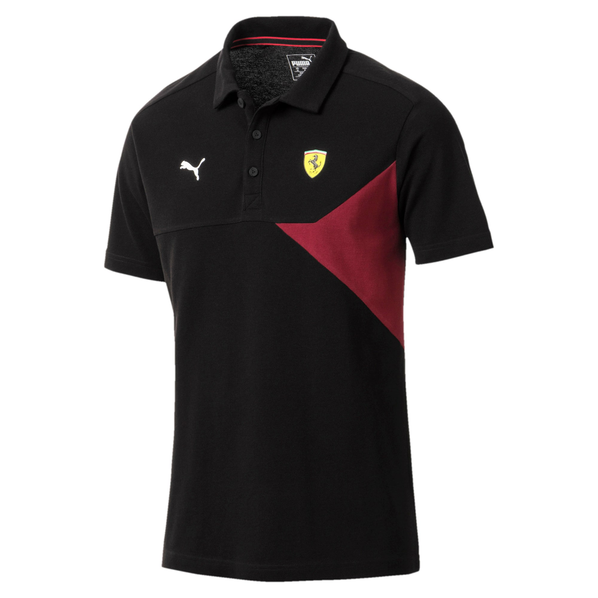 Thumbnail 1 of Scuderia Ferrari Men's Polo, Puma Black, medium