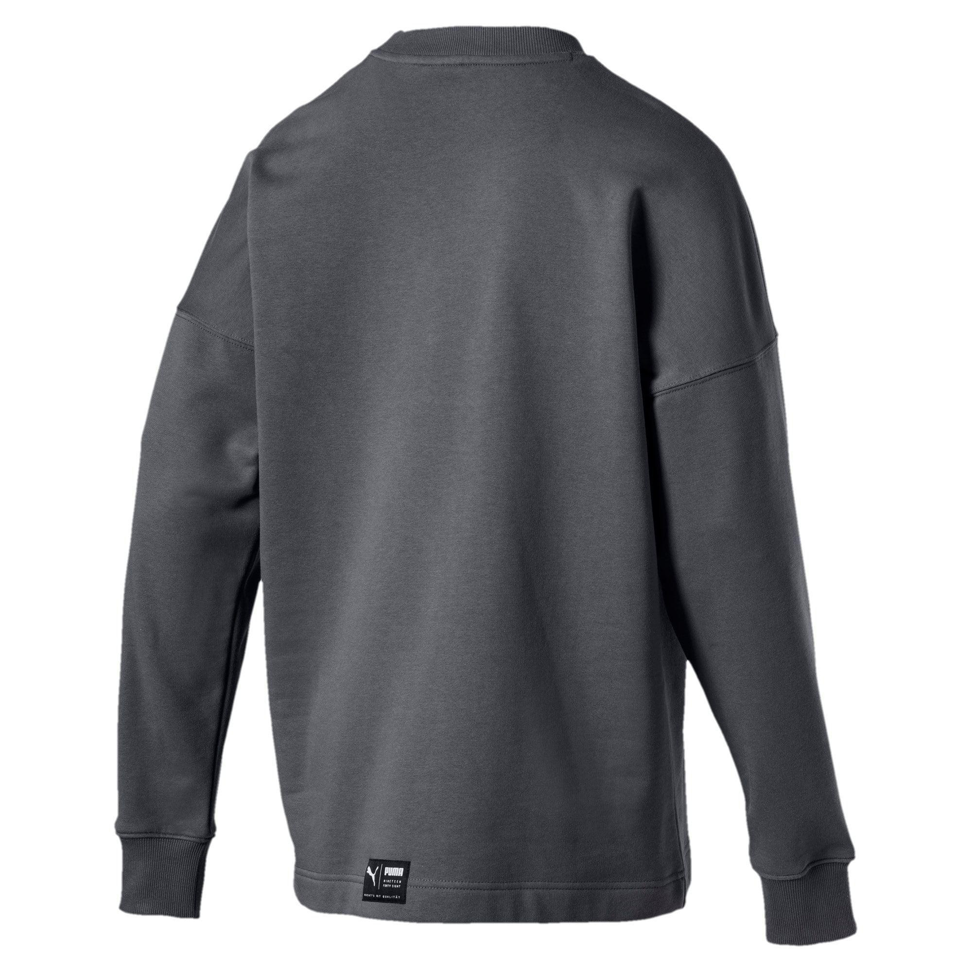 Thumbnail 3 of Classics Men's Downtown Sweater, Iron Gate, medium