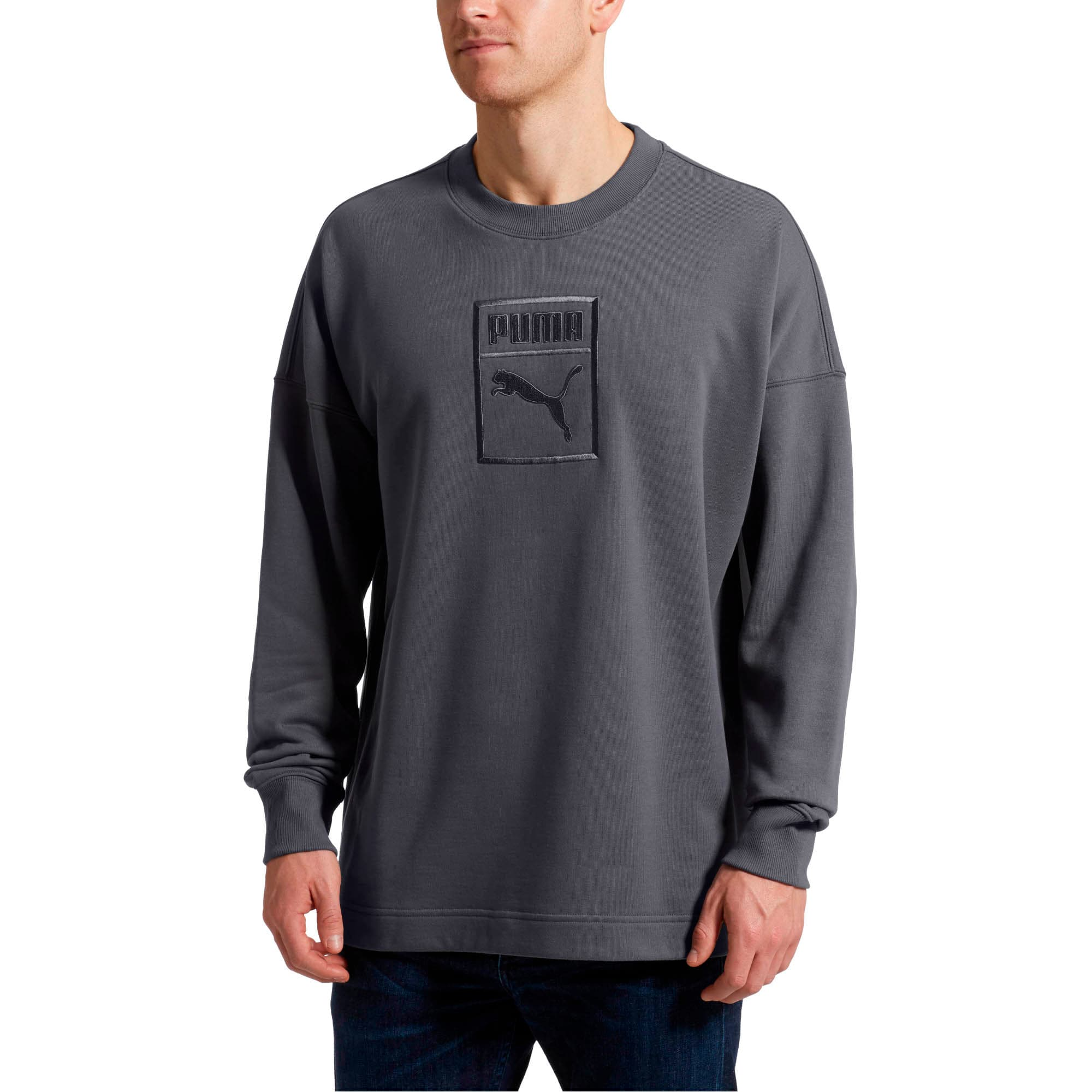 Thumbnail 2 of Classics Men's Downtown Sweater, Iron Gate, medium