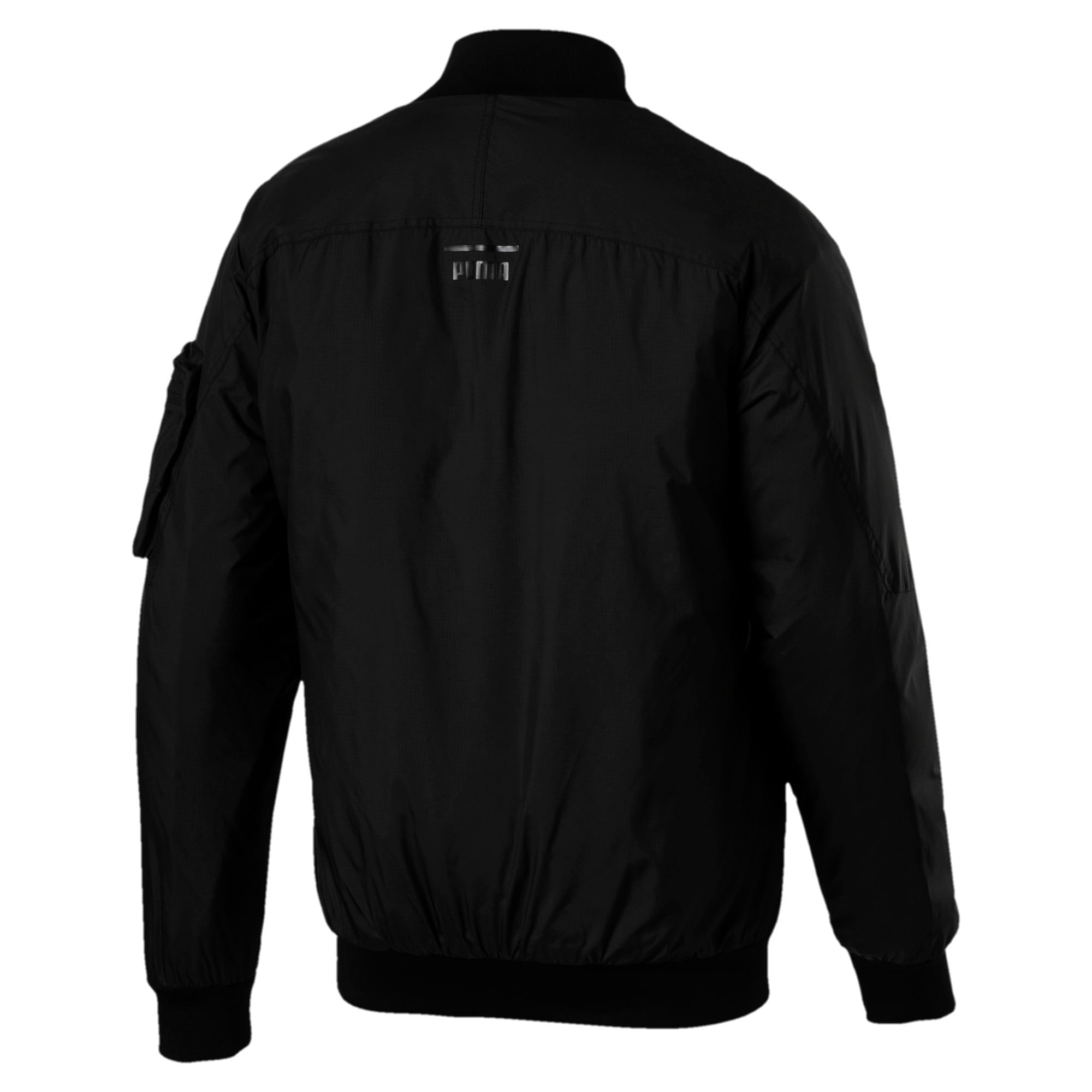 Thumbnail 5 of Pace Lab Zip-Up Down Men's Bomber, Puma Black, medium-IND