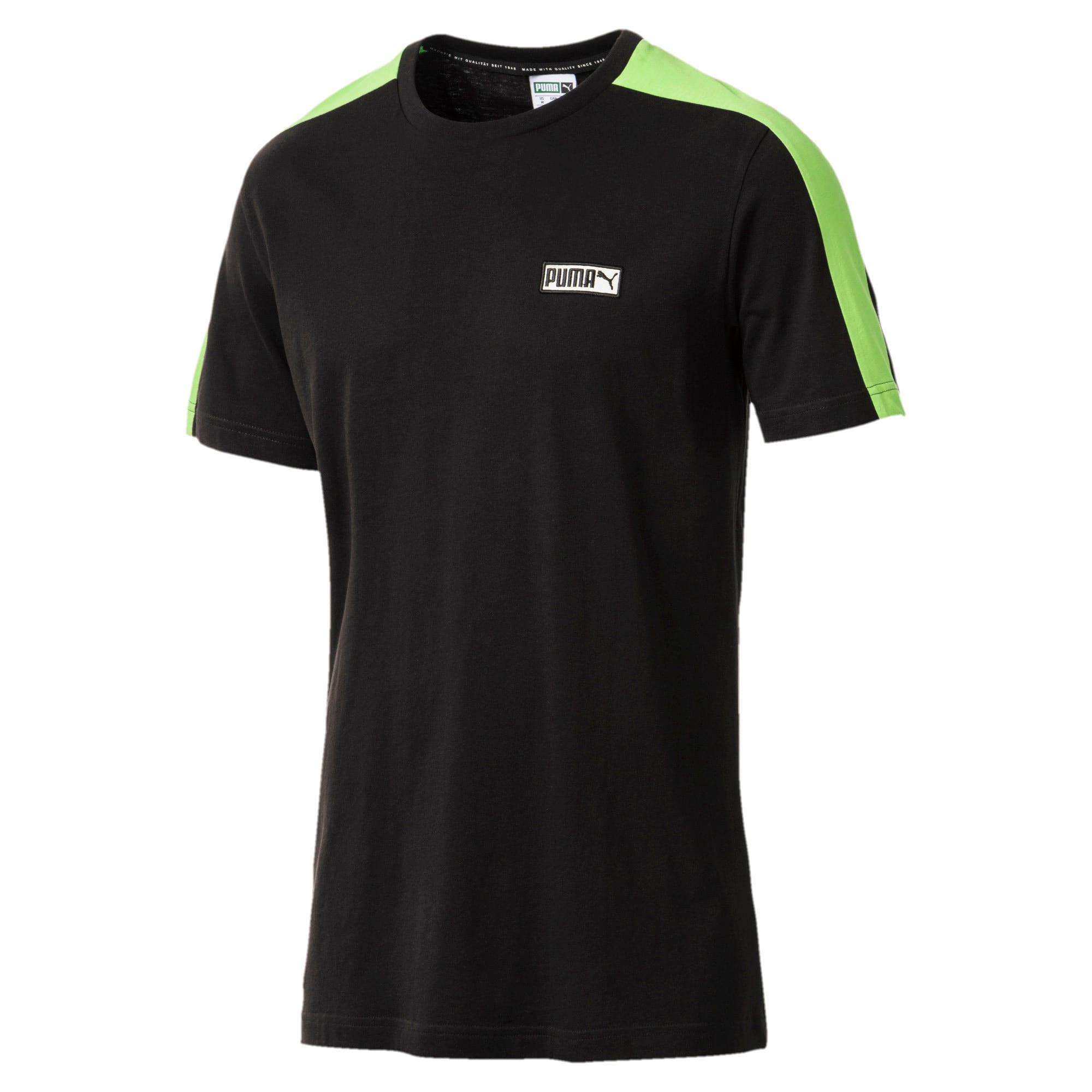 Thumbnail 1 of T7 Spezial Men's T-Shirt, Cotton Black, medium-IND