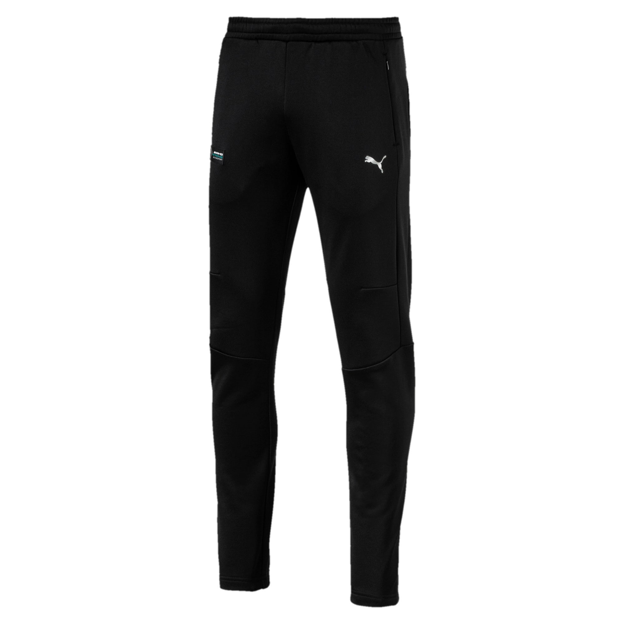 Thumbnail 1 of MERCEDES AMG PETRONAS Men's T7 Track Pants, Puma Black, medium-IND